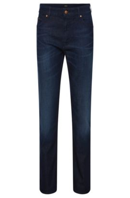 Jeans relaxed fit in misto cotone con elastan: 'Albany', Blu