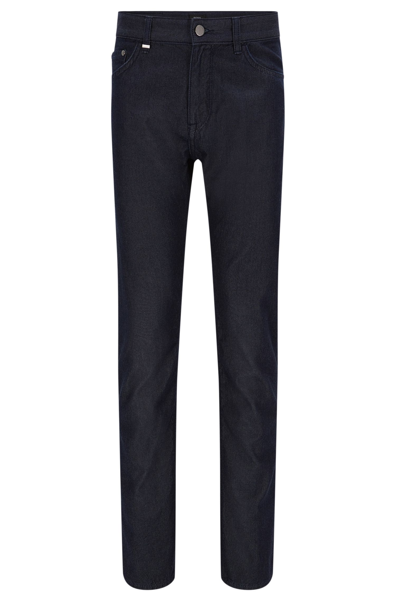 Regular-fit jeans in a cotton blend with cashmere: 'Maine3'