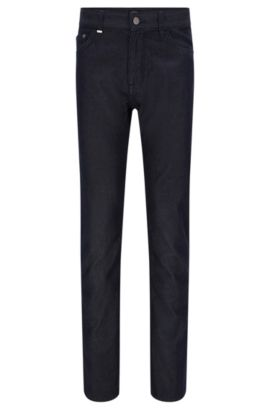 Regular-fit jeans in a cotton blend with cashmere: 'Maine3', Dark Blue