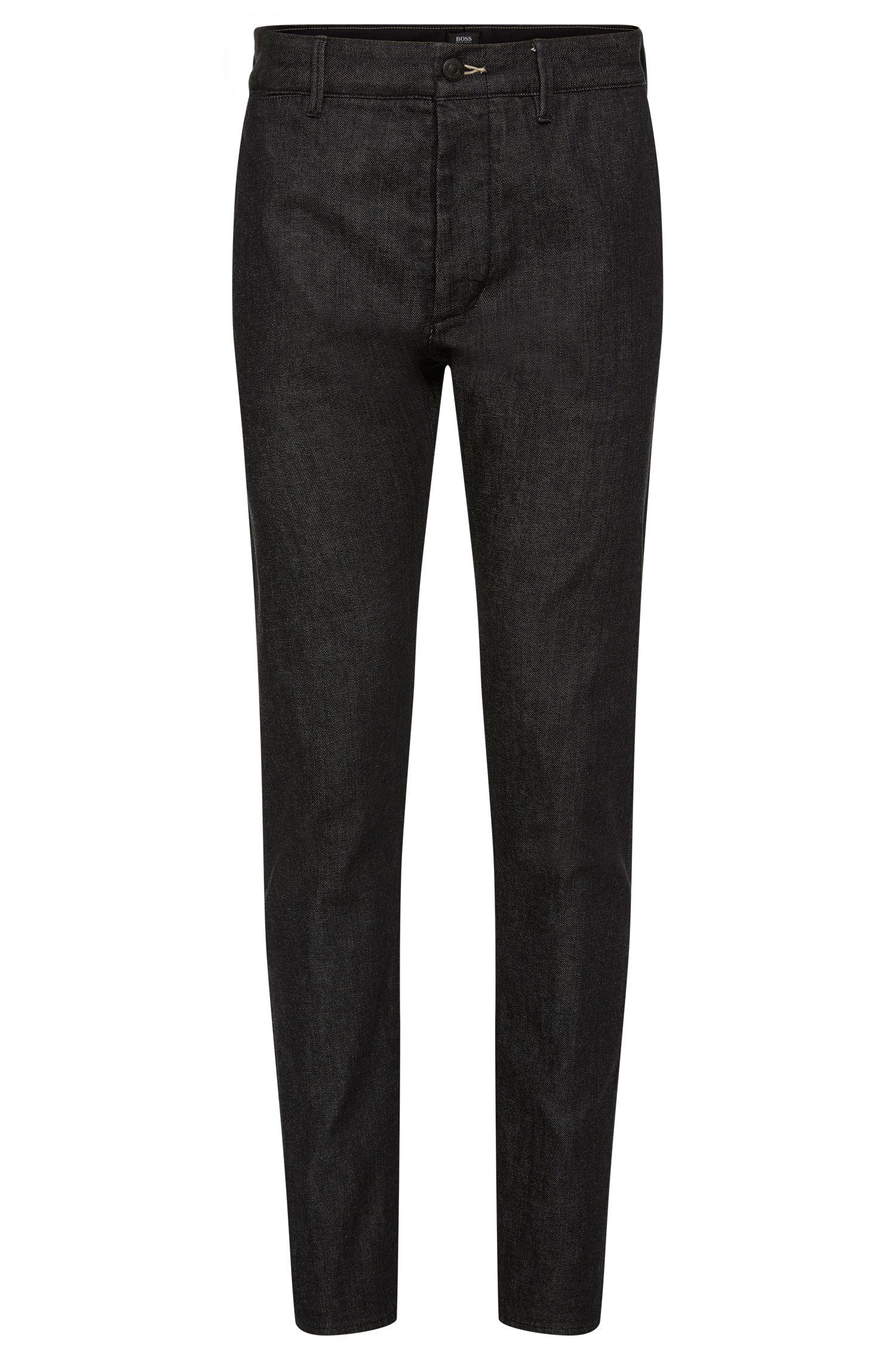 Regular-Fit Jeans aus Stretch-Baumwolle in Rinsed-Optik: 'Fremont-Edge'