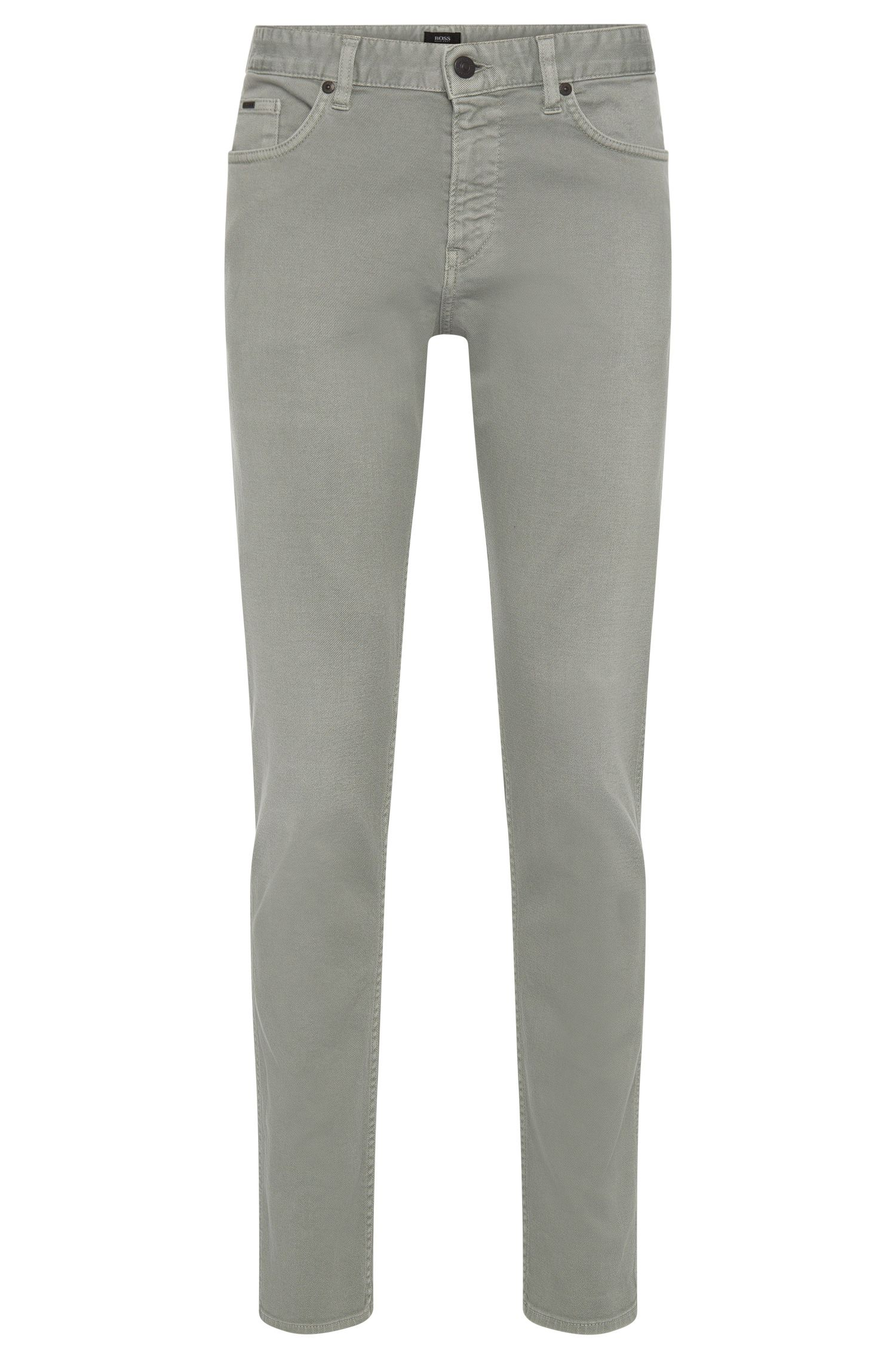 Slim-fit jeans made from stretch cotton in 5-pocket style: 'Delaware3'