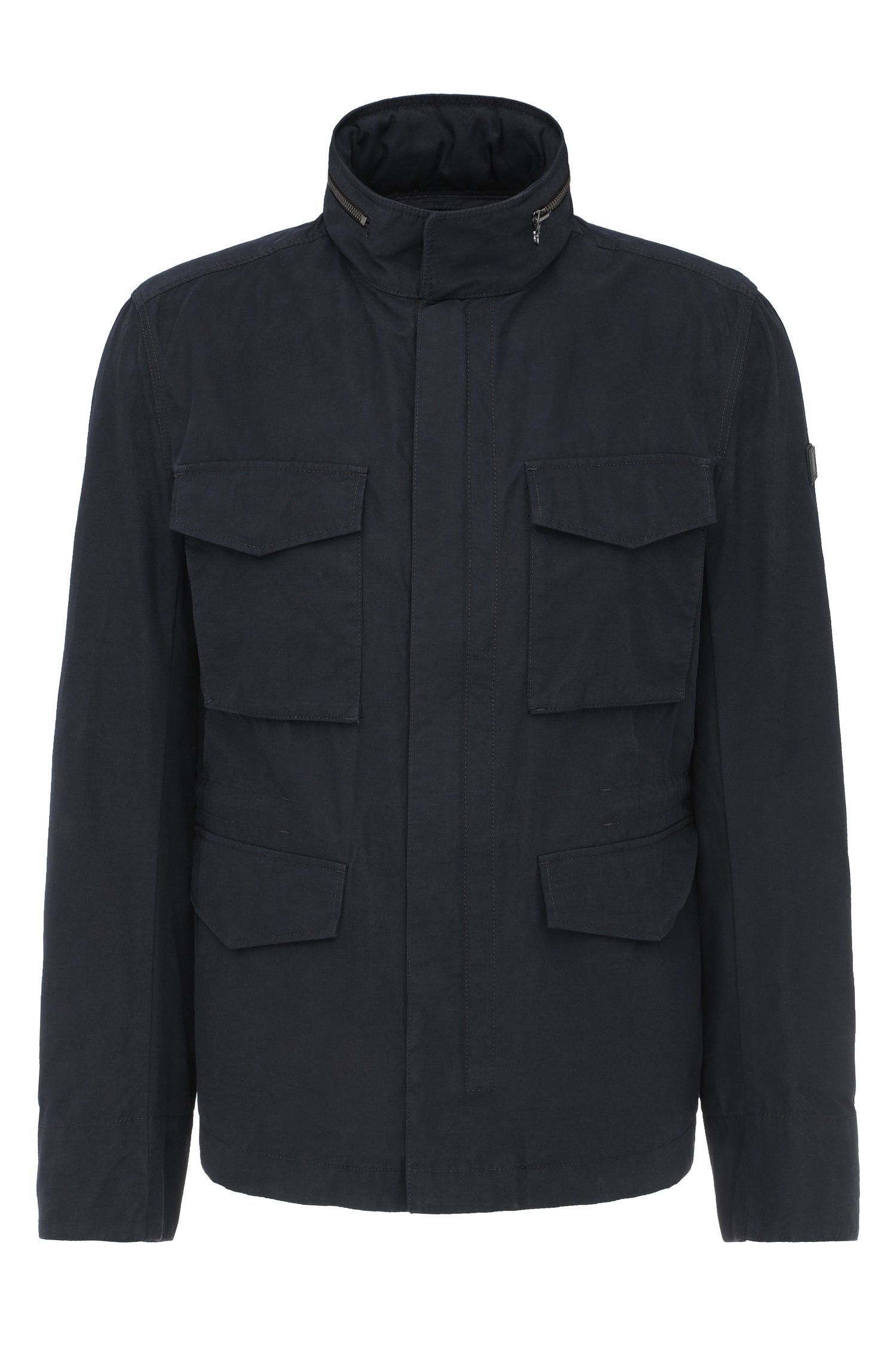 Regular-fit field jacket in cotton blend: 'Odean-W'
