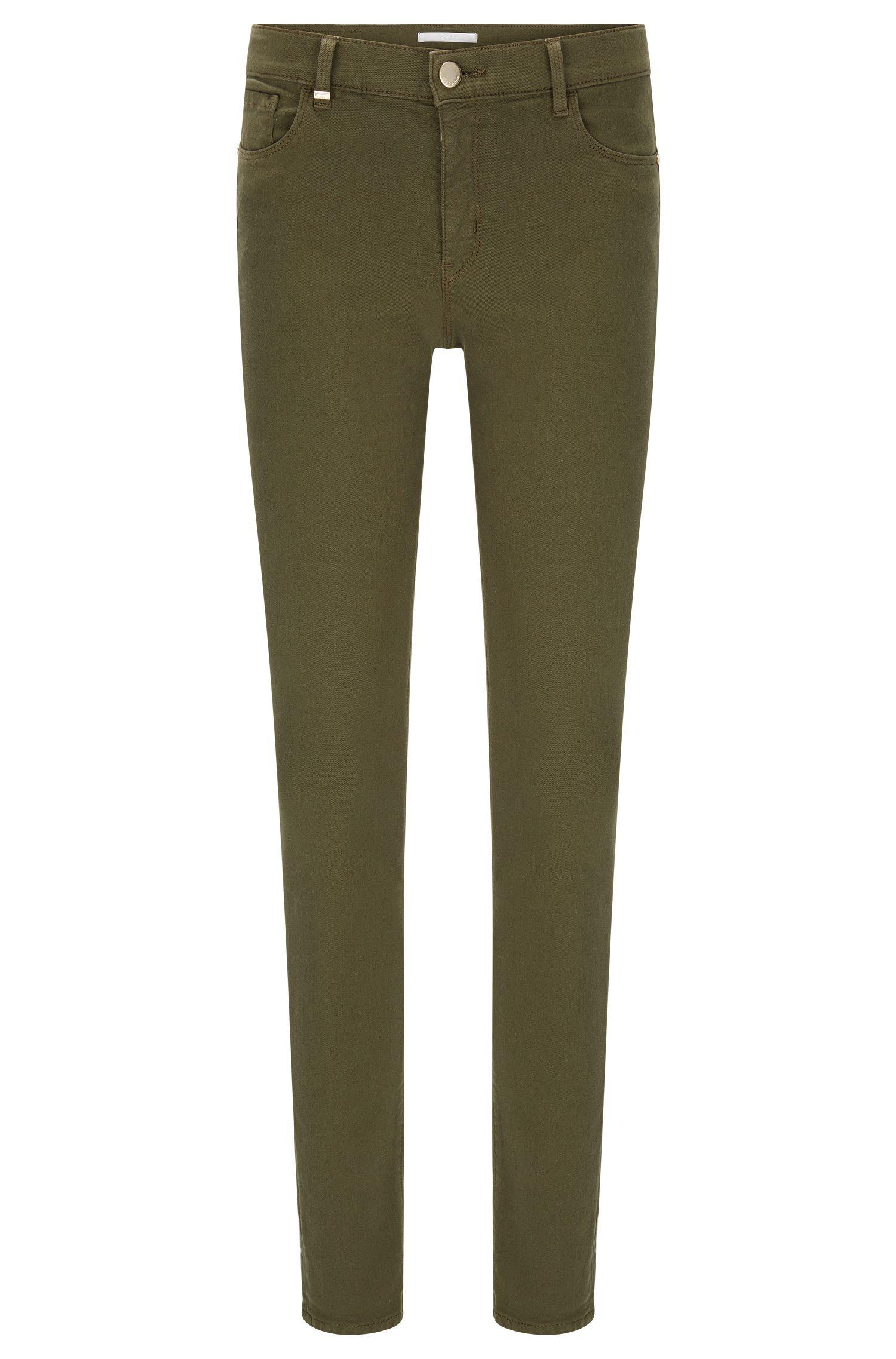 Slim-Fit Jeans aus elastischem Baumwoll-Mix: 'Nafice Cuff'