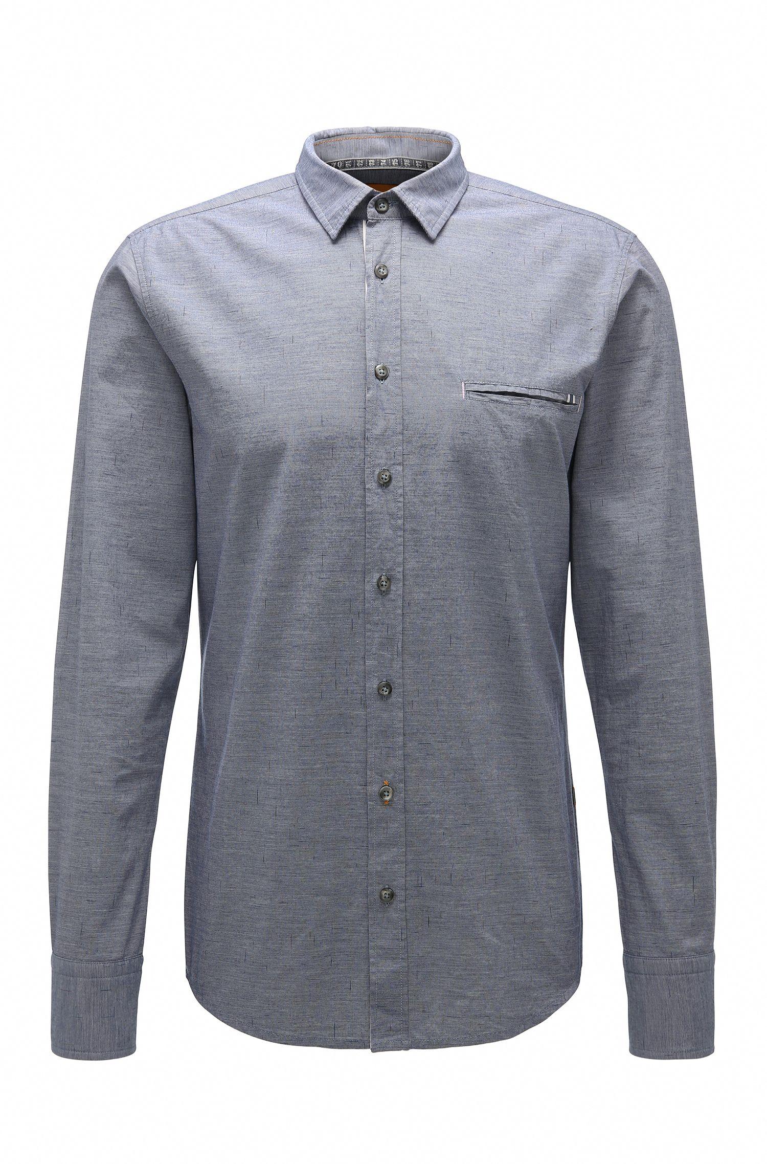 Regular-Fit Freizeithemd aus Baumwolle: ´Elvedge`