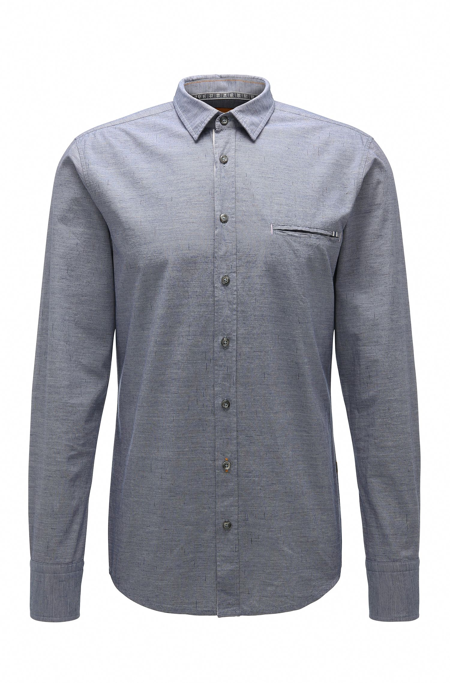 Camisa casual regular fit en algodón: 'Elvedge'