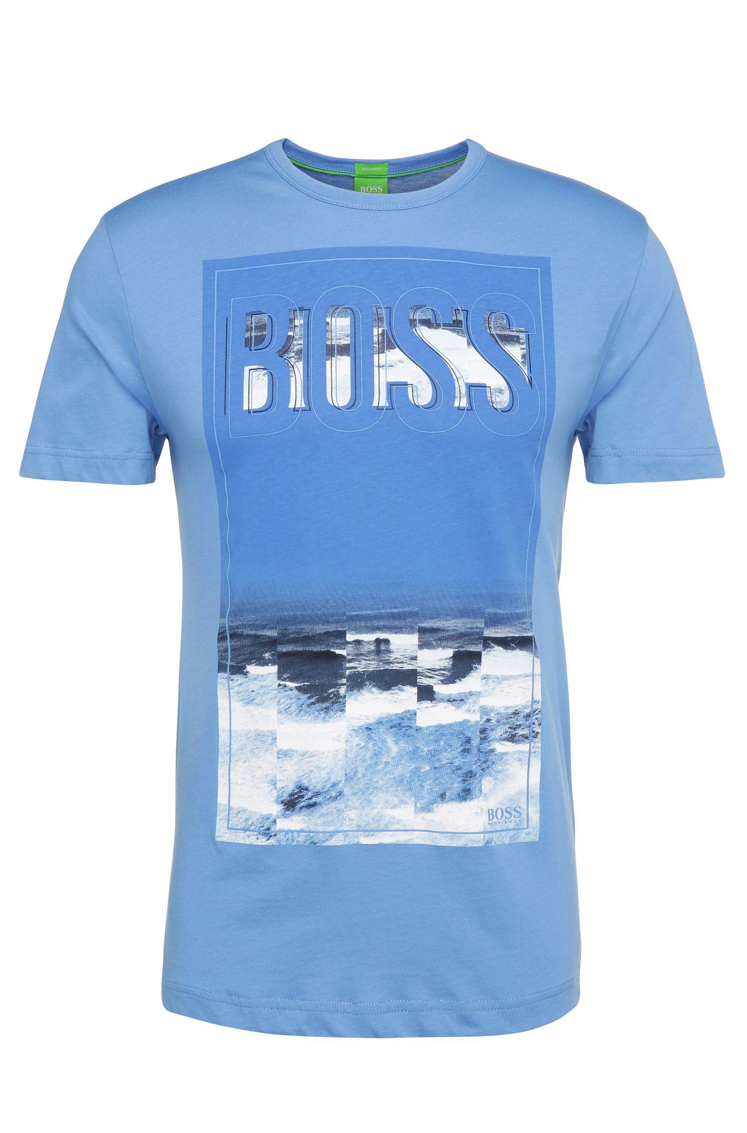 T-shirt en coton Regular Fit à motif maritime: «Tee6»