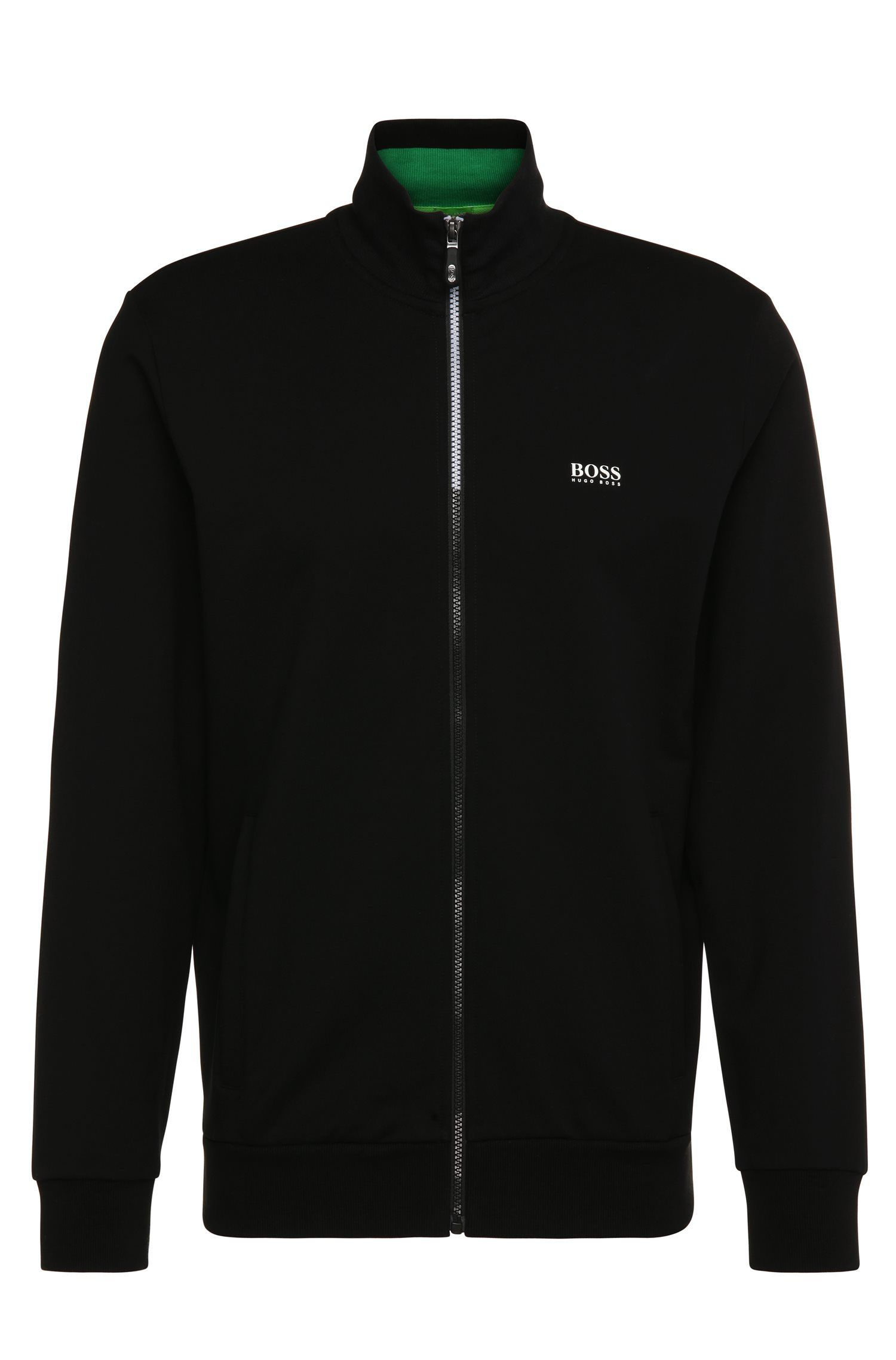 Blouson molletonné Regular Fit en coton stretch : « Skaz 1 »