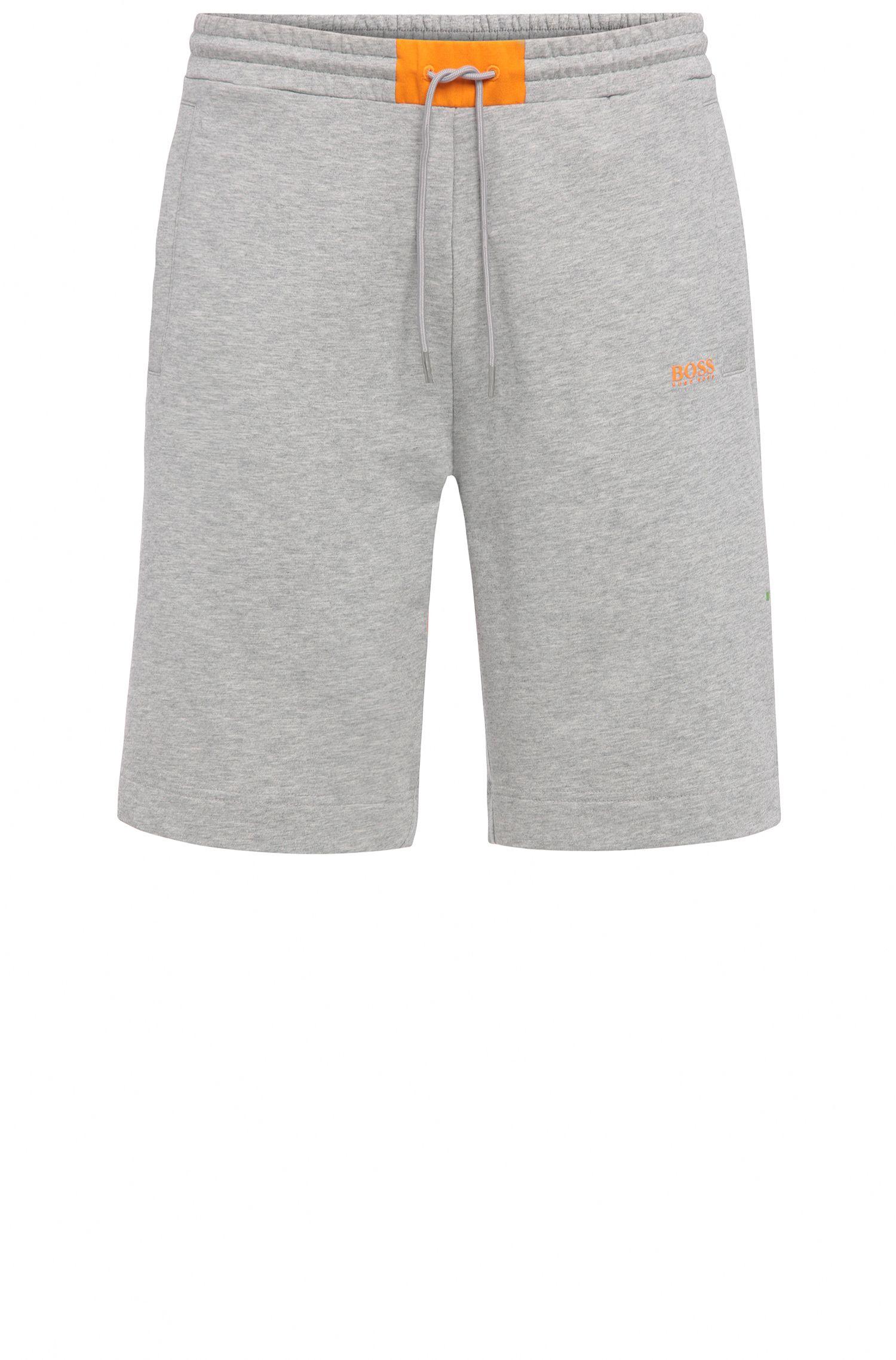 Regular-fit shorts in stretch cotton blend: 'Headlo 1'