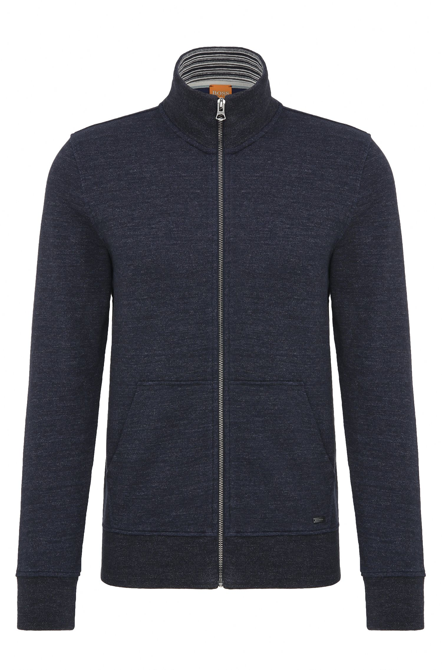 Regular-Fit Sweatjacke aus Baumwolle: ´Zpandau`