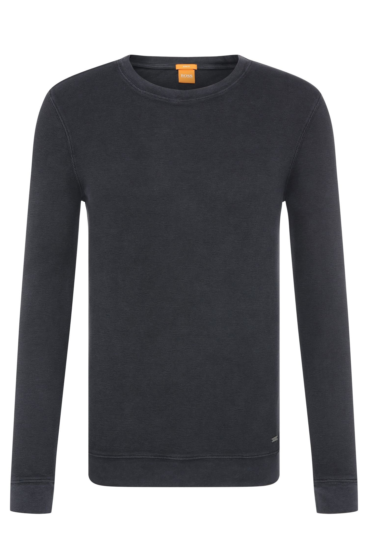 Slim-Fit Pullover aus Baumwolle: ´Wings`
