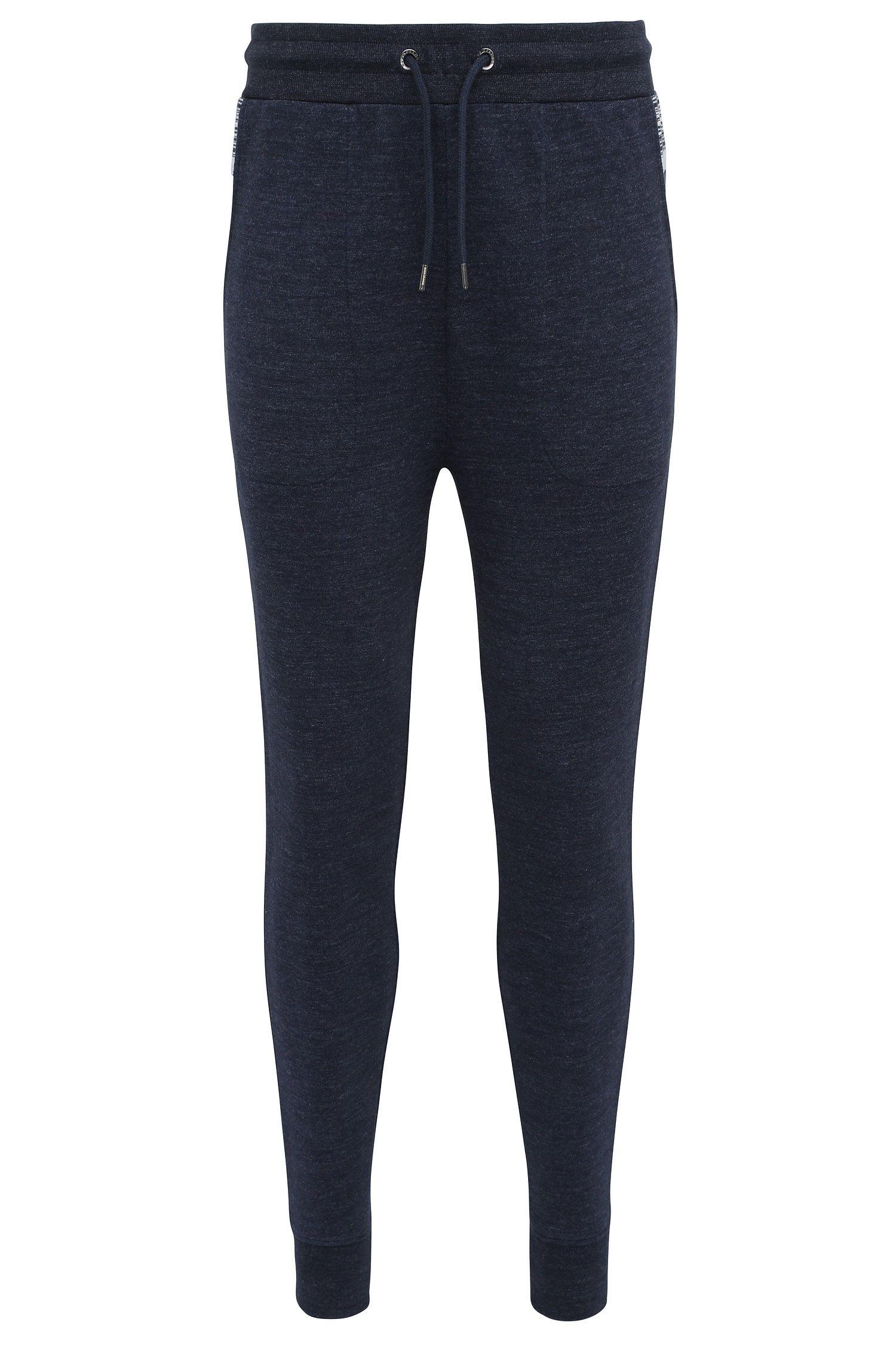 Pantalón de chándal regular fit en mezcla de algodón con elastano: 'Shines'
