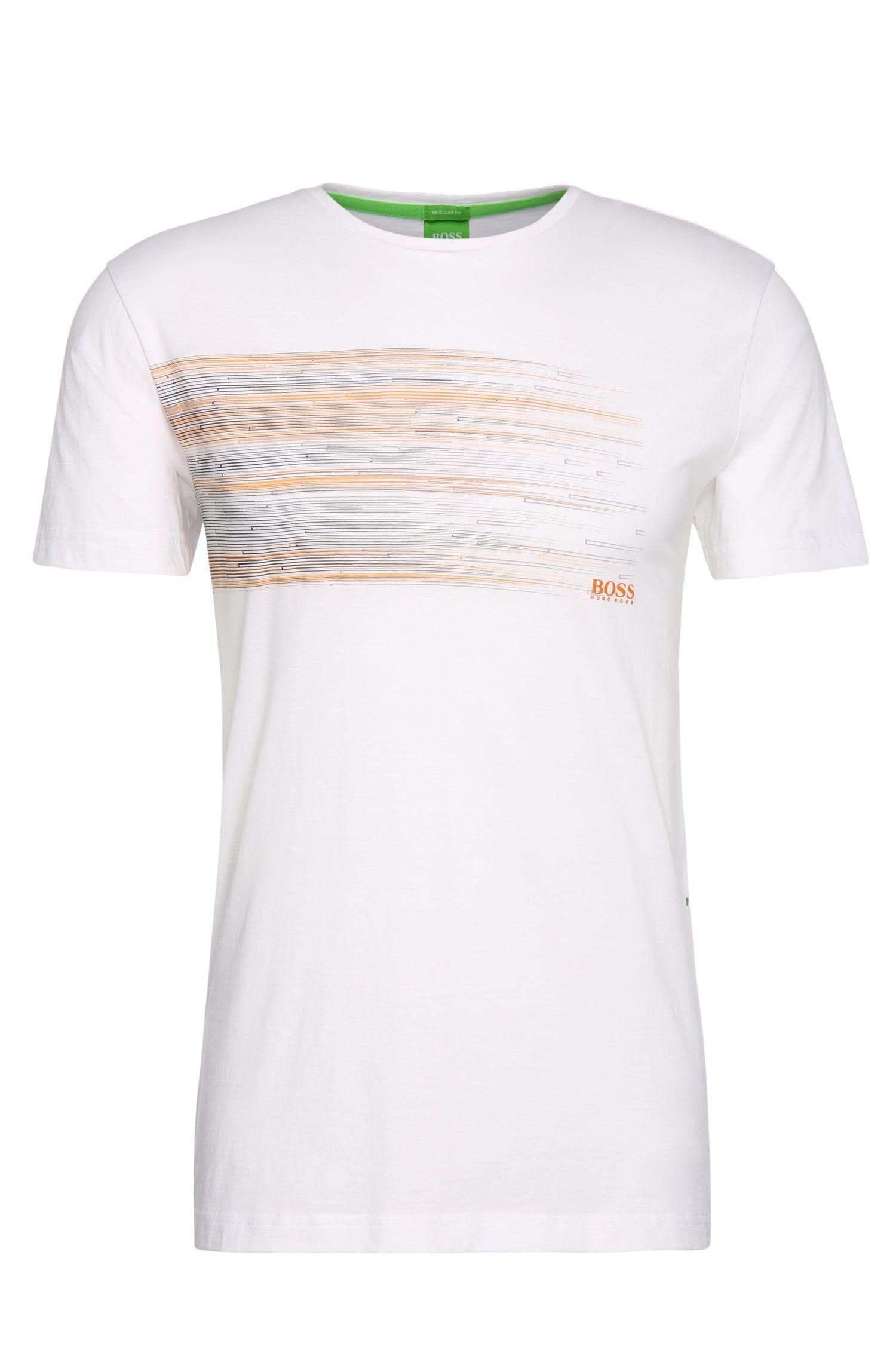 T-shirt en coton Regular Fit à imprimé: «Teep 1»