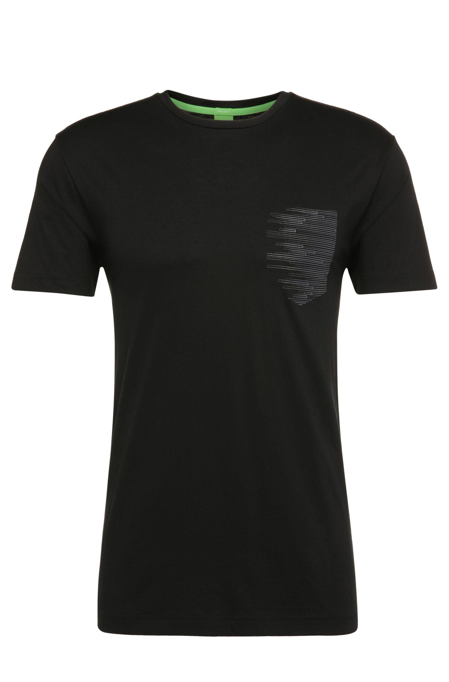 T-shirt Regular Fit en coton avec imprimé: «Teep»