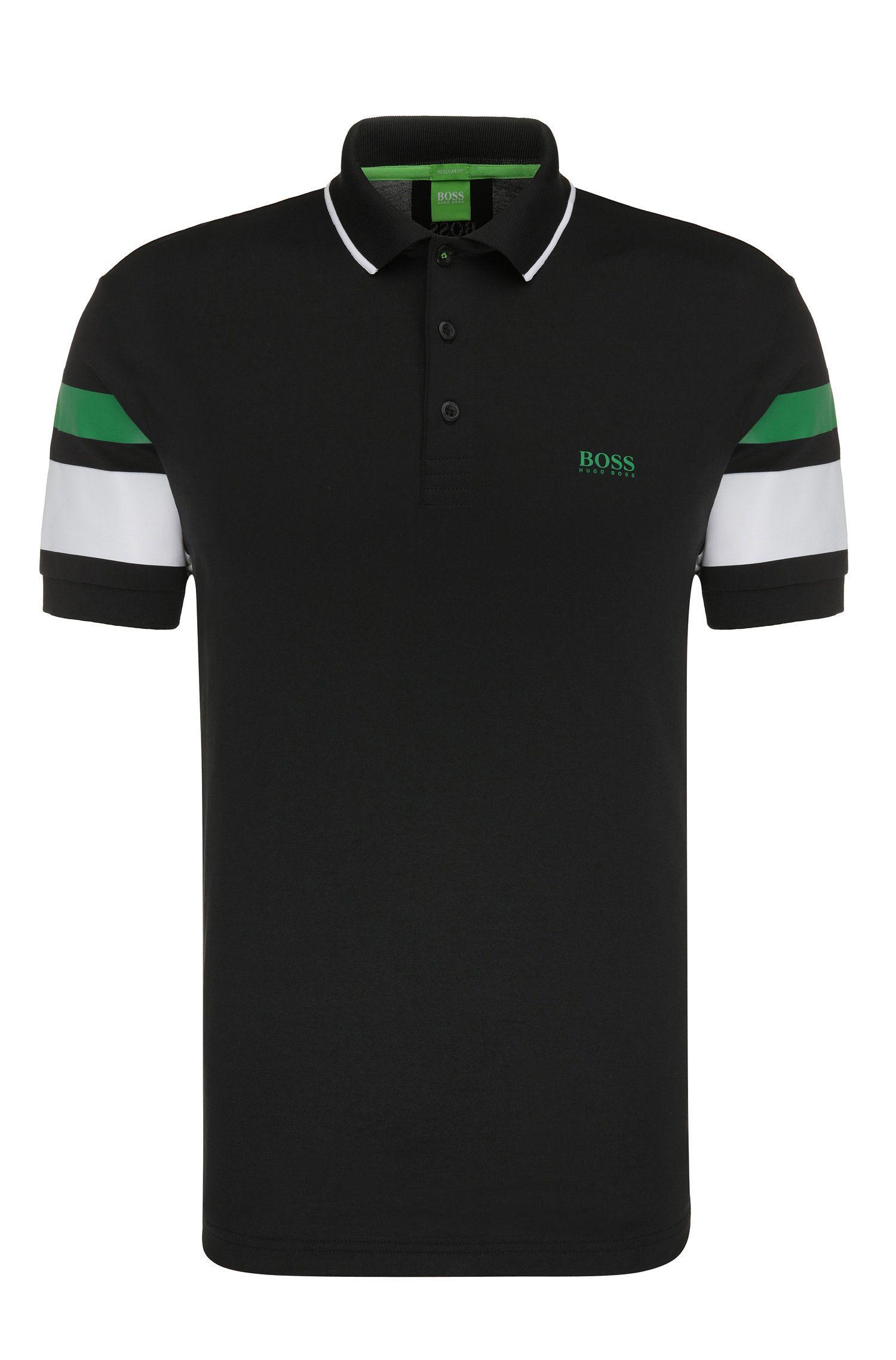 Polo Regular Fit en coton mélangé: «Paddy 5»