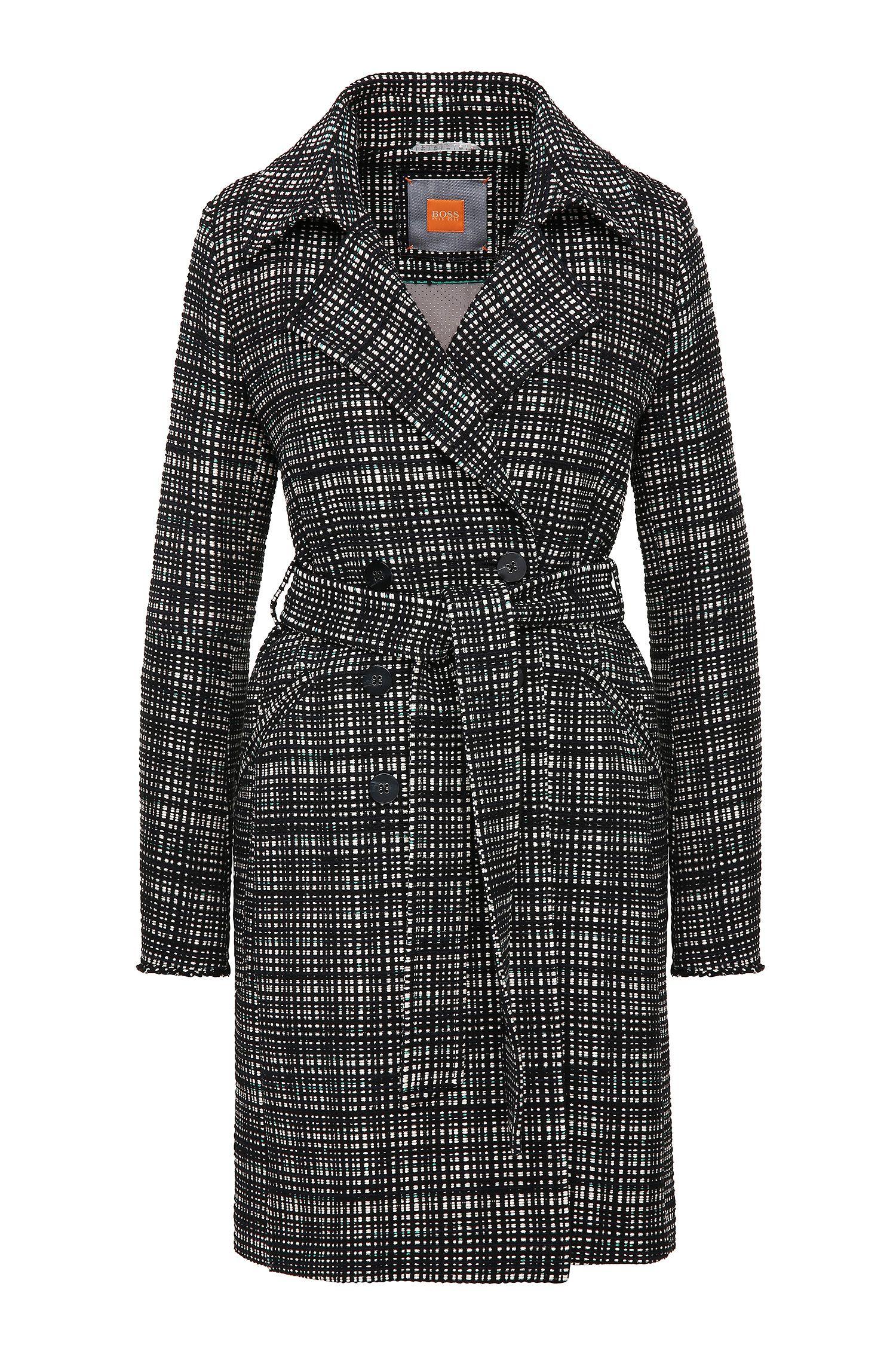 Mantel aus Baumwoll-Mix im Tweed-Look: ´Otrenchelle`