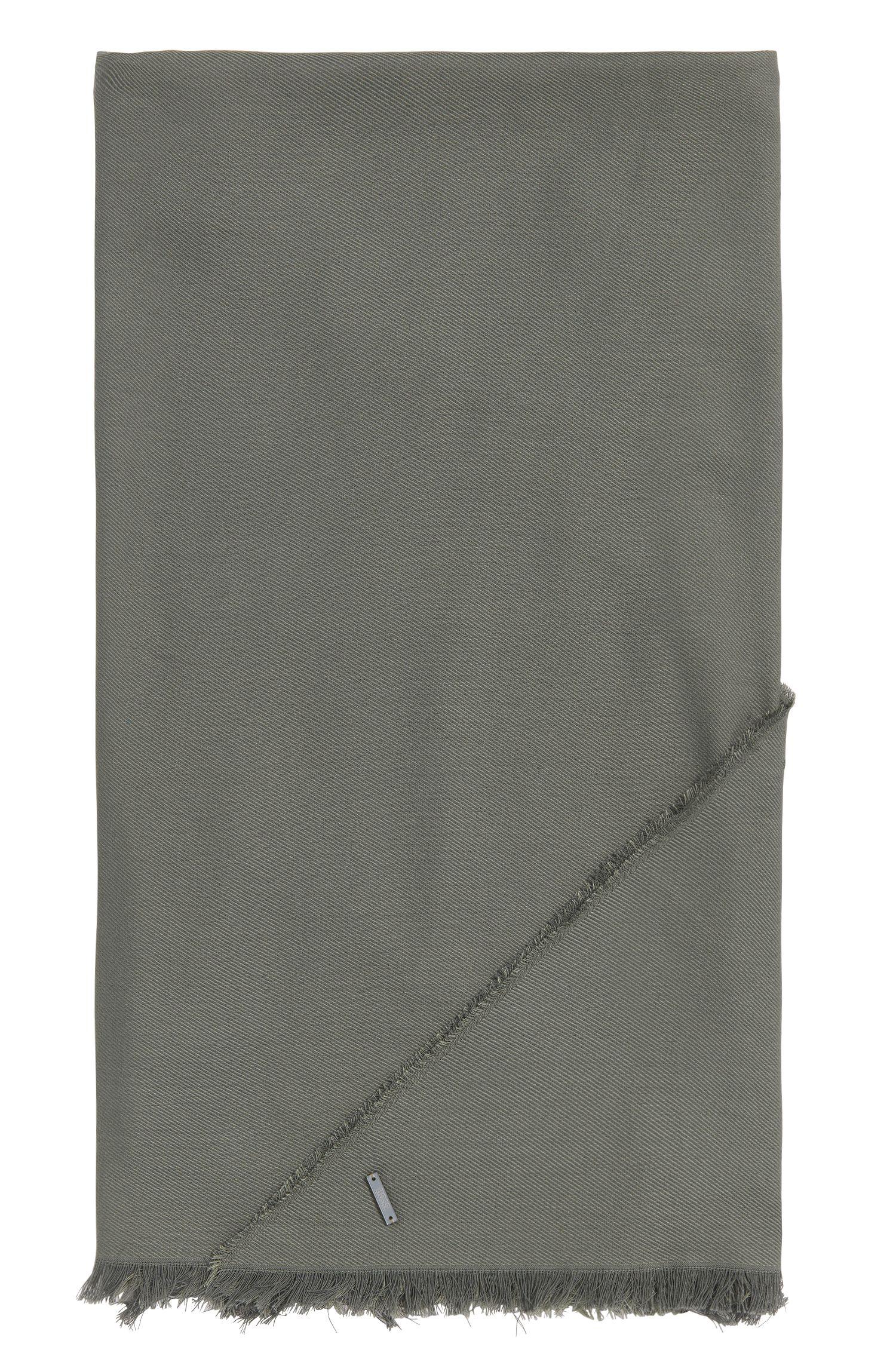 Pañuelo triangular en mezcla de algodón con modal: 'Pulmas'