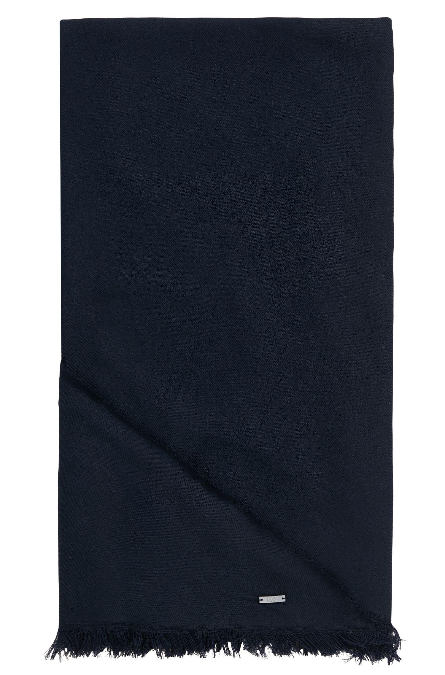 Driehoekige omslagdoek van een katoenmix met modal: 'Pulmas'
