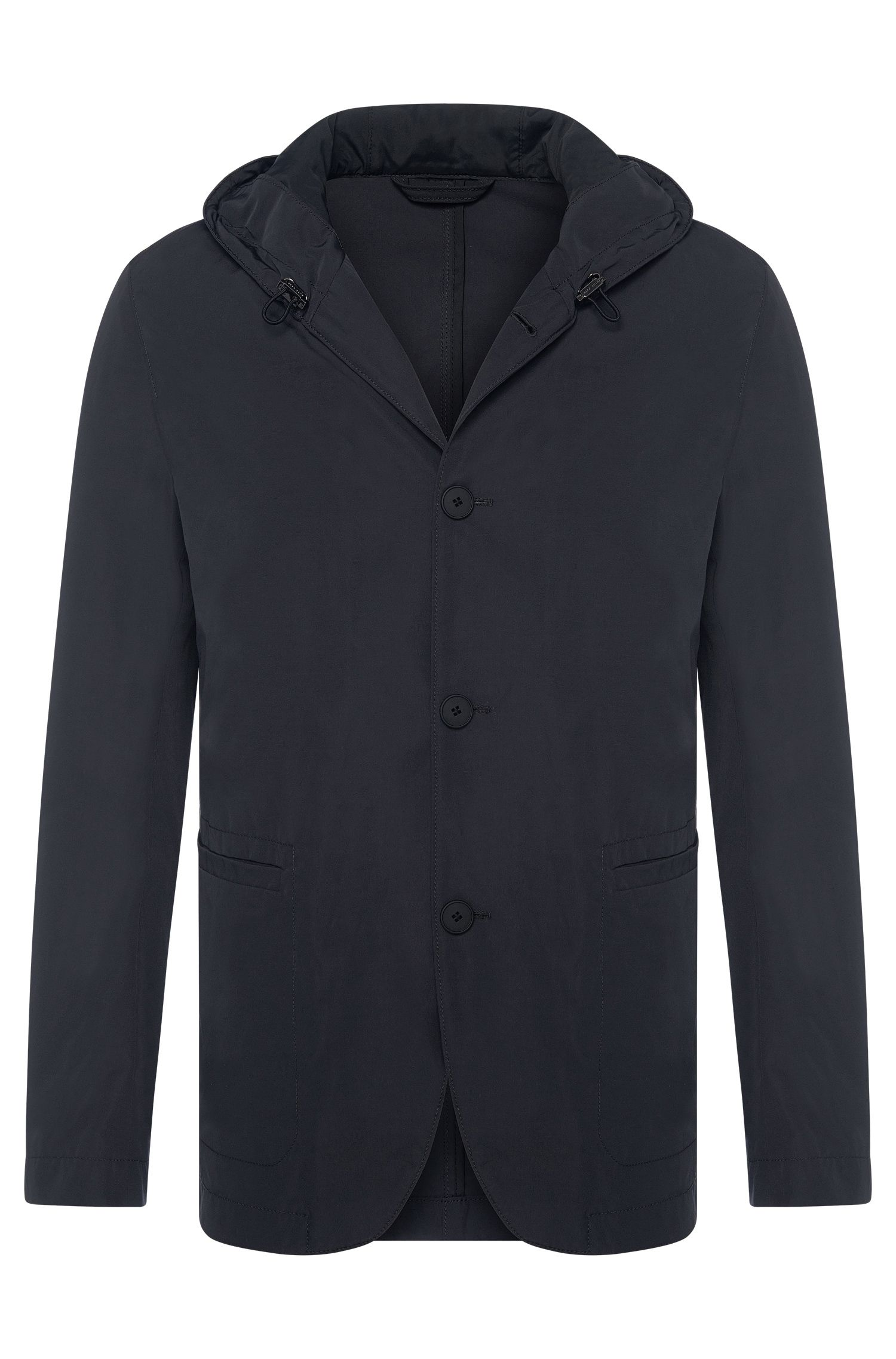 Hooded jacket in tailored jacket style: 'Josse-W'