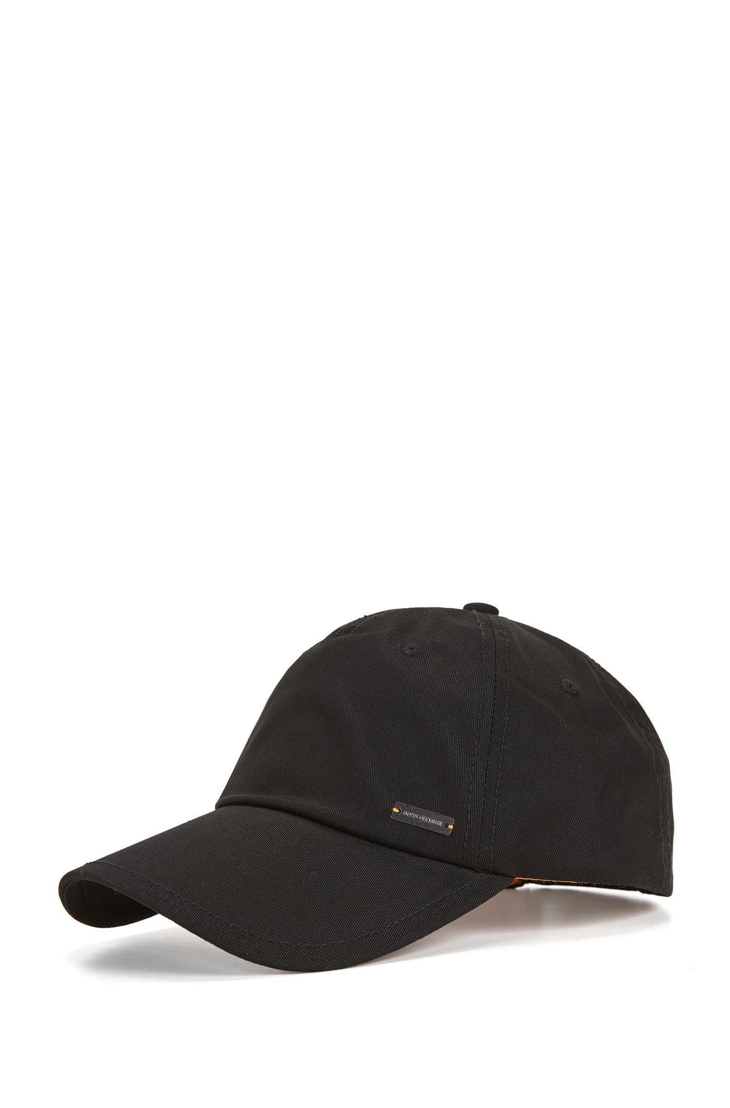 Verstellbare Baseball Cap aus Baumwoll-Twill