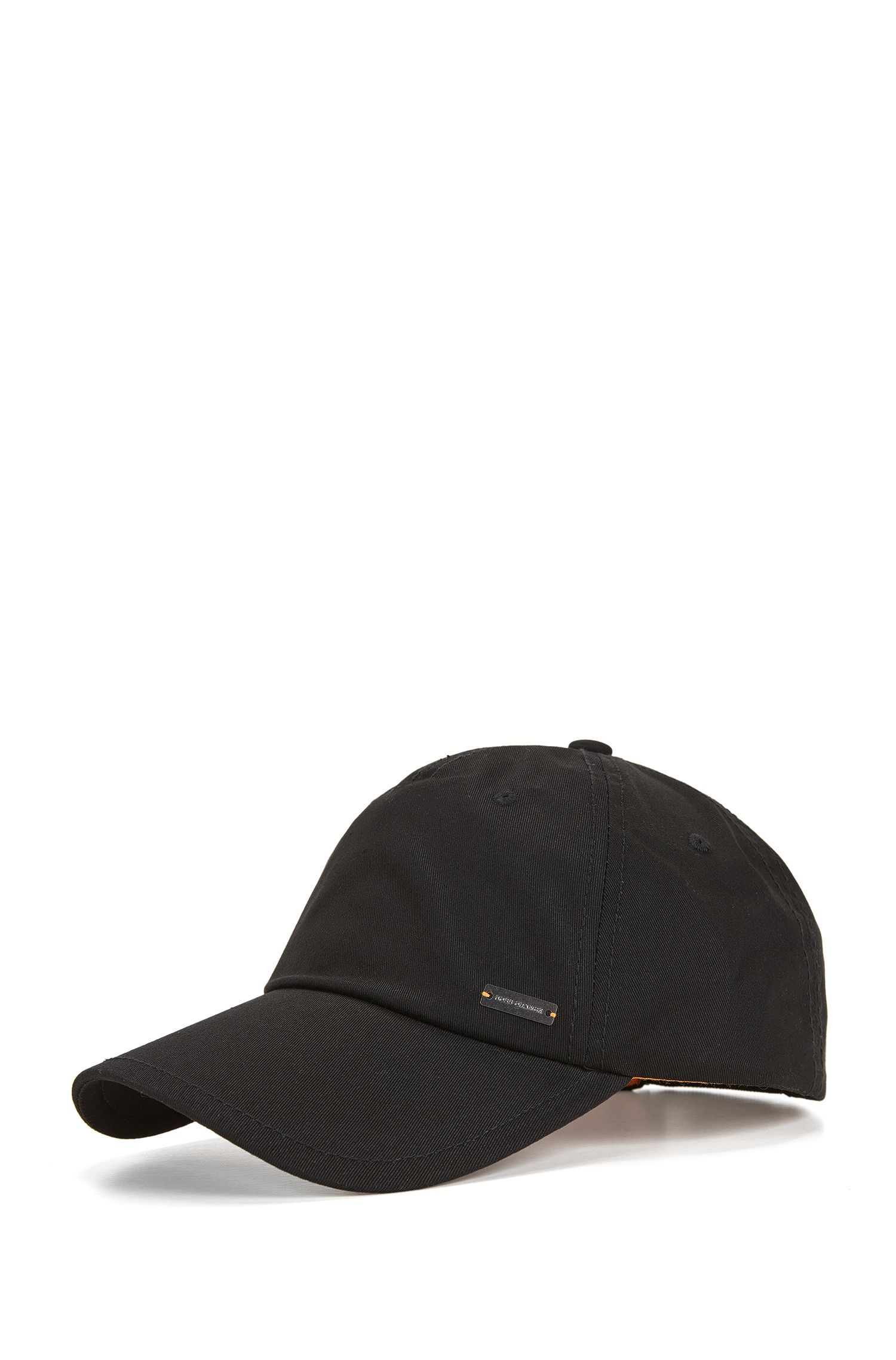 Adjustable baseball cap in cotton twill