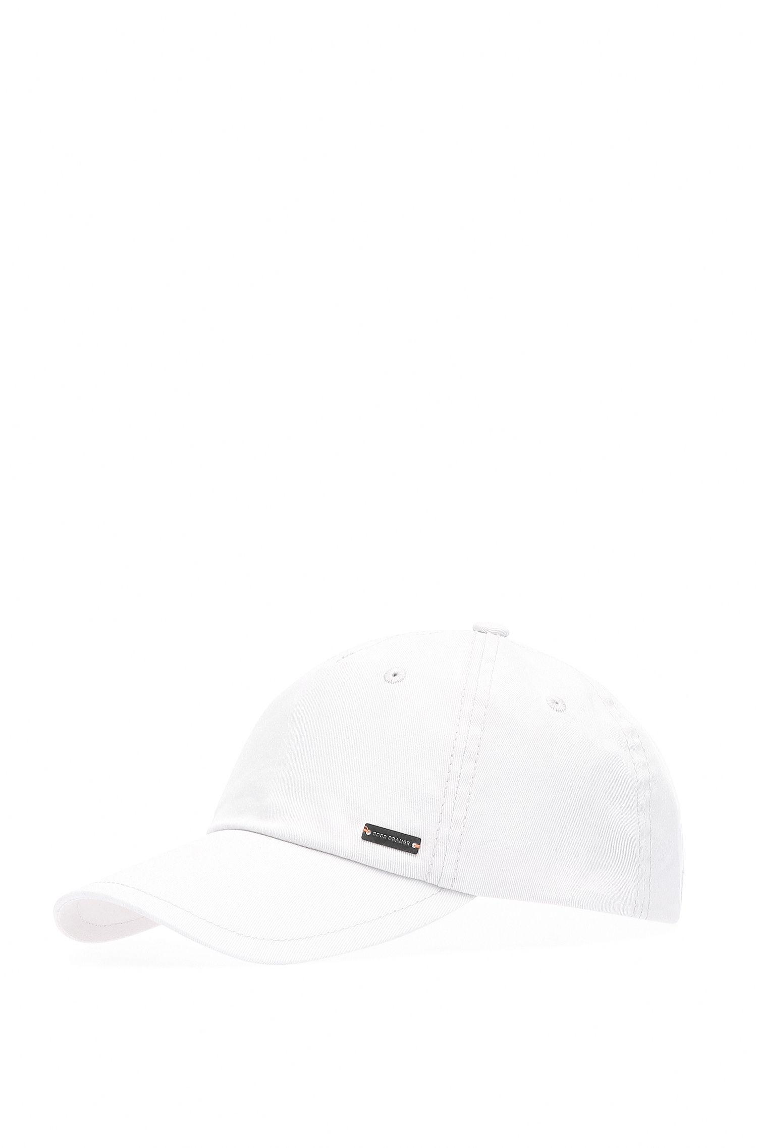 Plain-coloured baseball cap in cotton: 'Forcano-16'