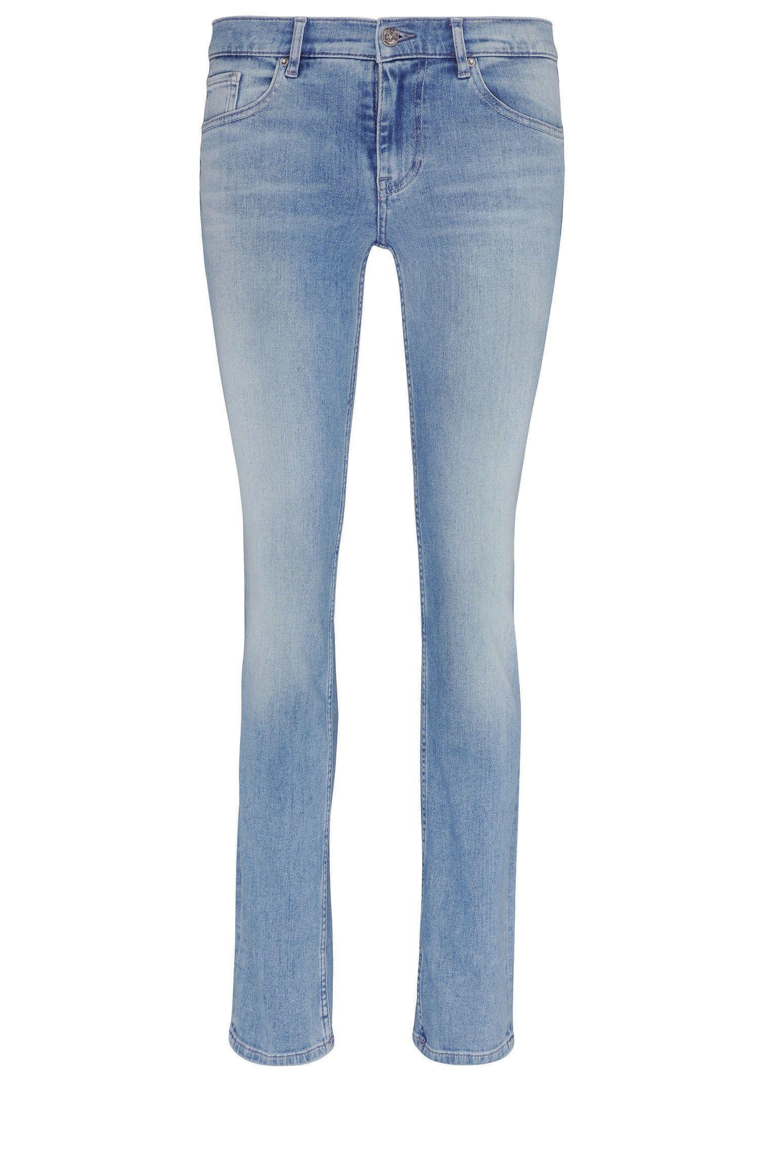 Regular-fit jeans in stretch cotton blend: 'Orange J30 Tisdale'