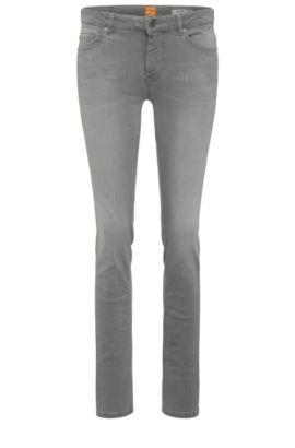 Slim-Fit Jeans aus elastischem Baumwoll-Mix: ´Orange J20 Sidney`, Grau