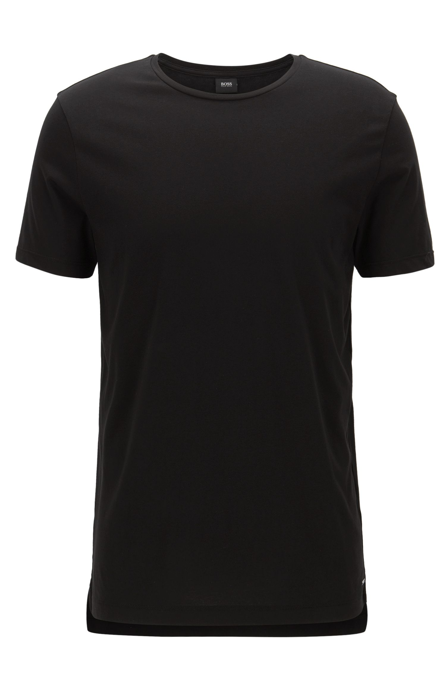 T-shirt slim fit in morbido jersey di cotone