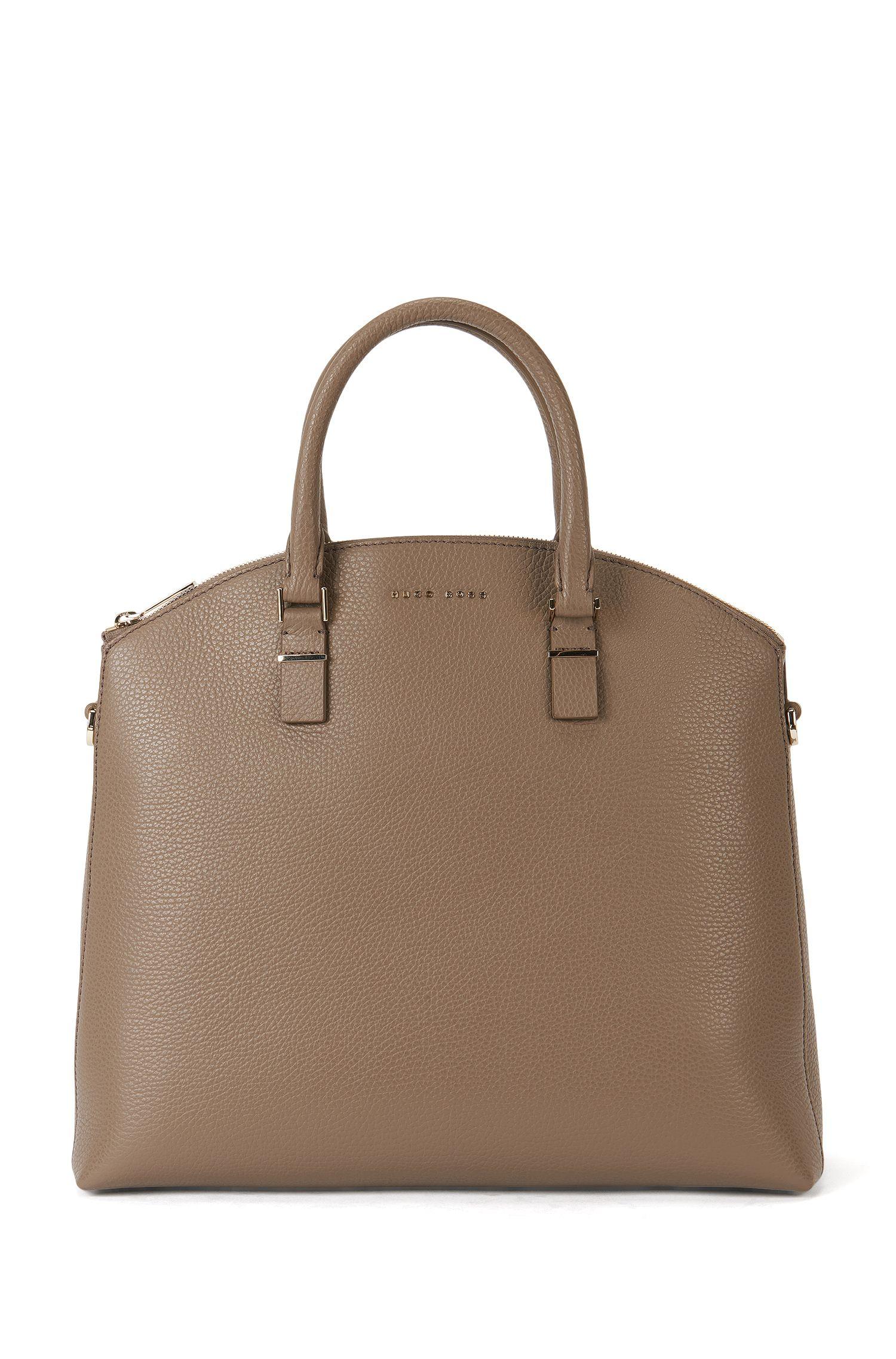 Handtasche aus Leder mit abnehmbarem Schulterriemen: 'Luxury S. B.'