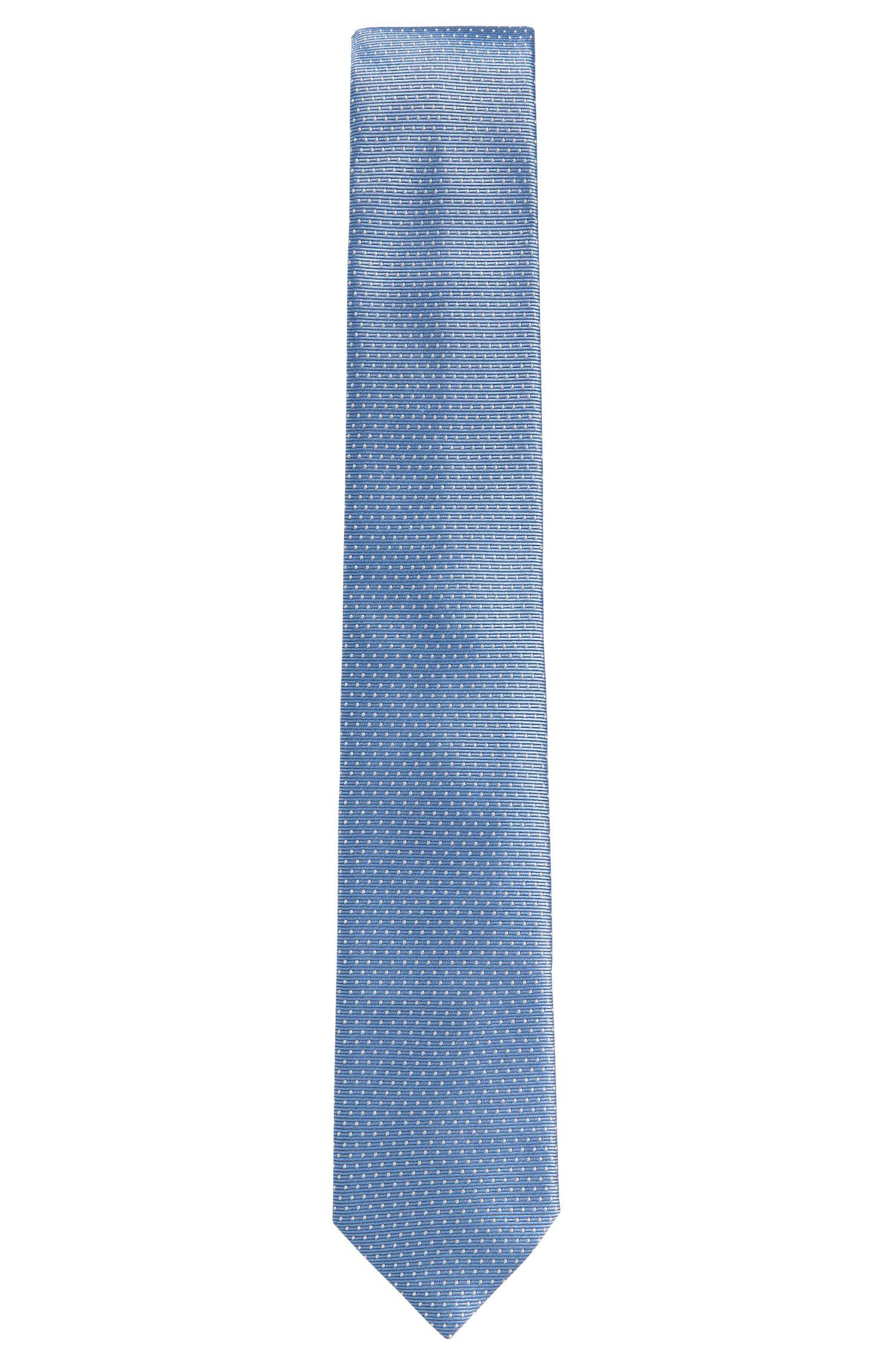 Corbata de seda de puntos: 'Tie 7 cm'