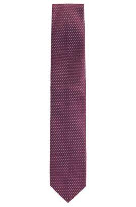 Corbata de seda de puntos: 'Tie 7 cm', Lila