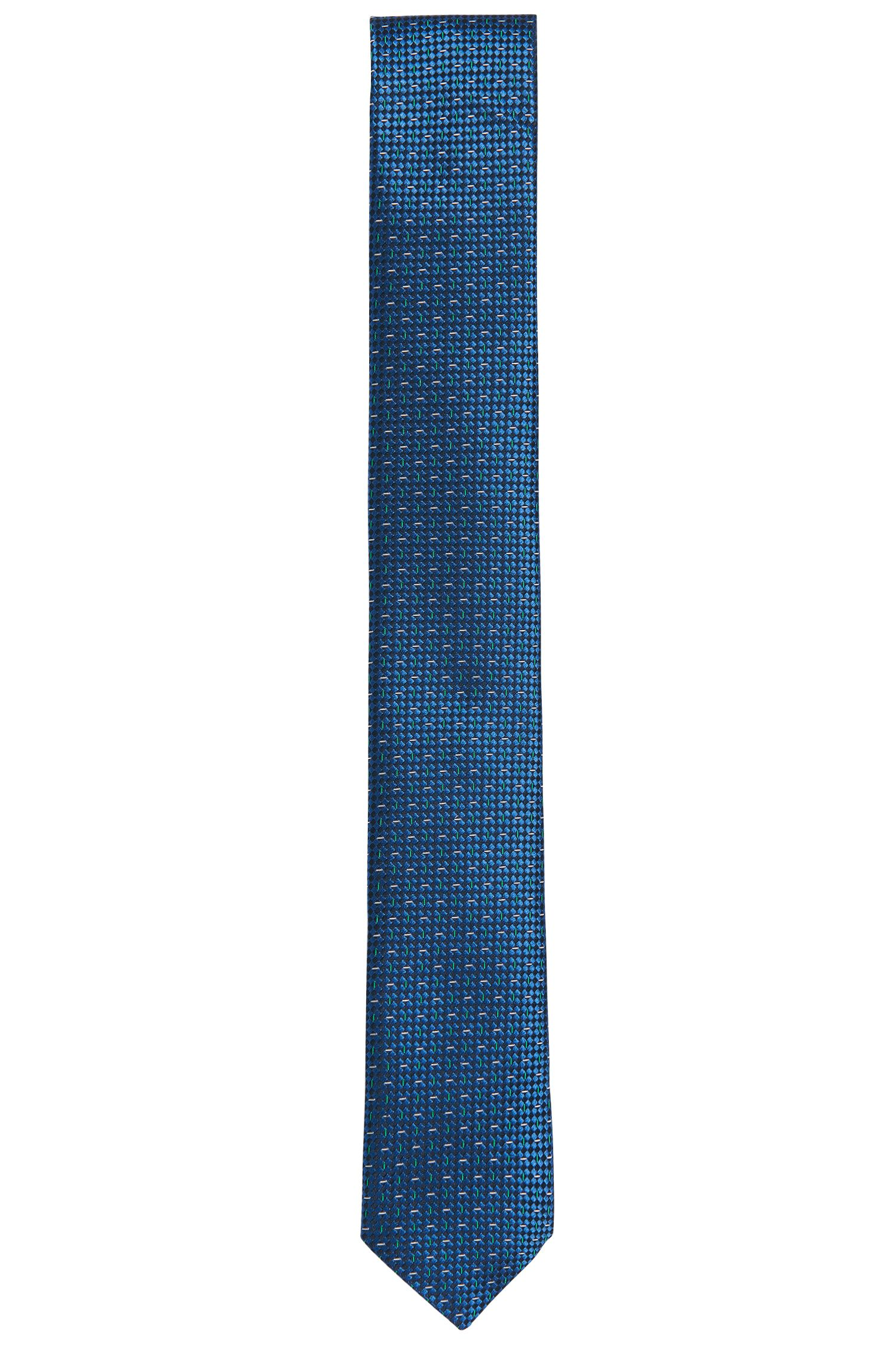 Corbata de seda con textura fina: 'Tie 6cm'