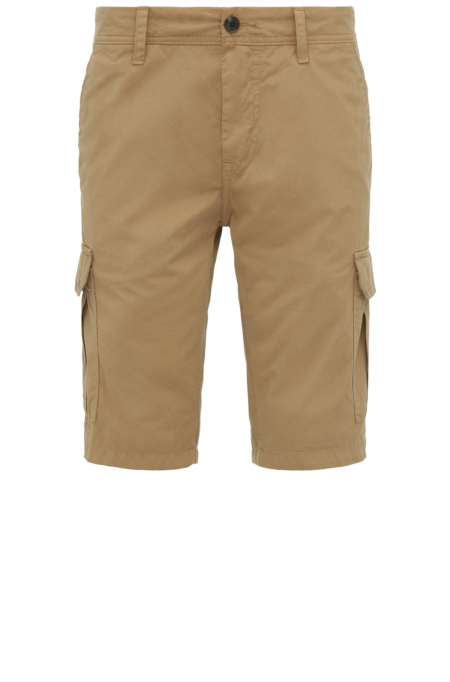 Regular-fit cargo shorts in cotton: 'Schwinn5-Shorts-D'