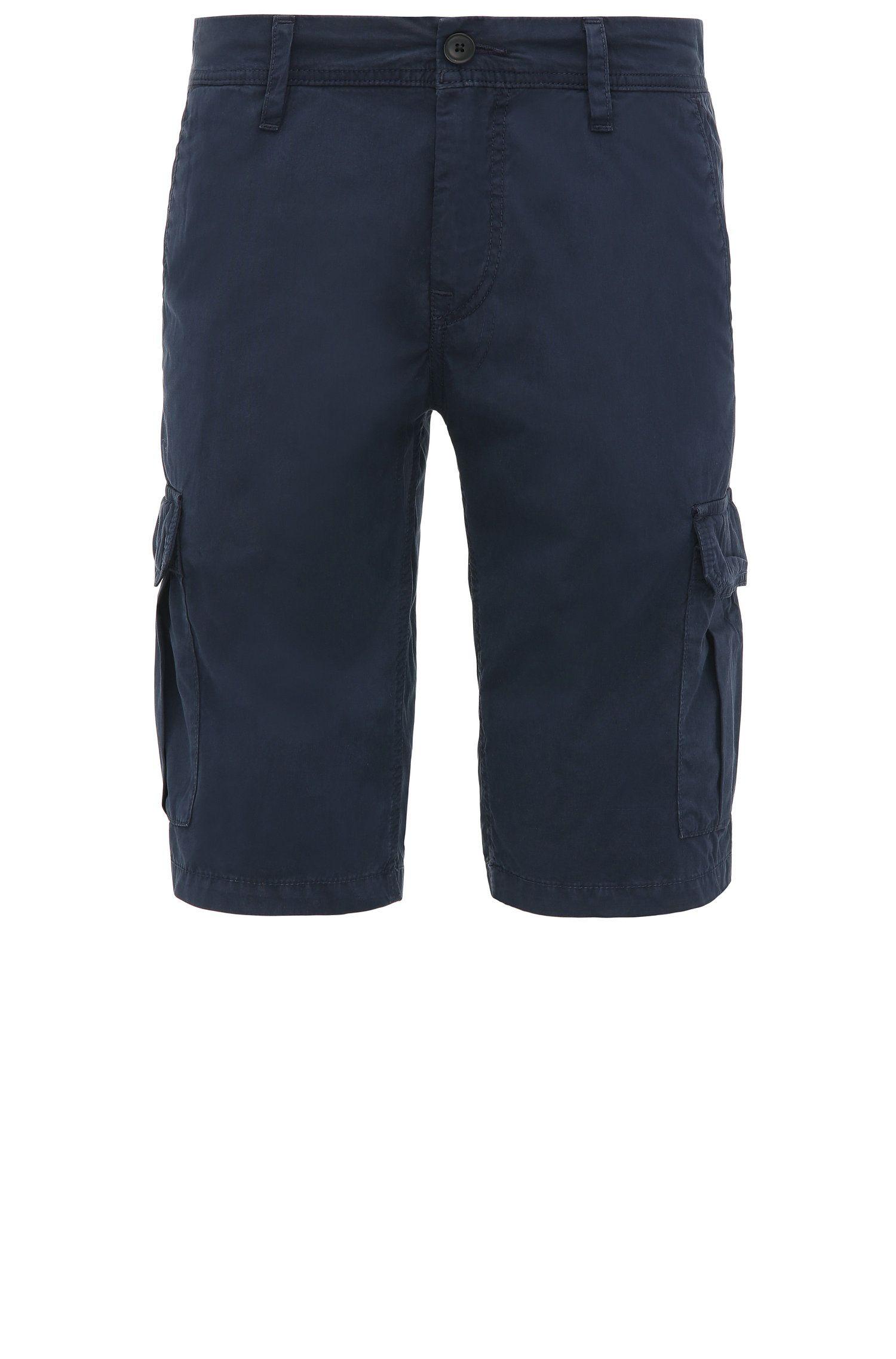 Short cargo Regular Fit en coton: «Schwinn5-Shorts-D»