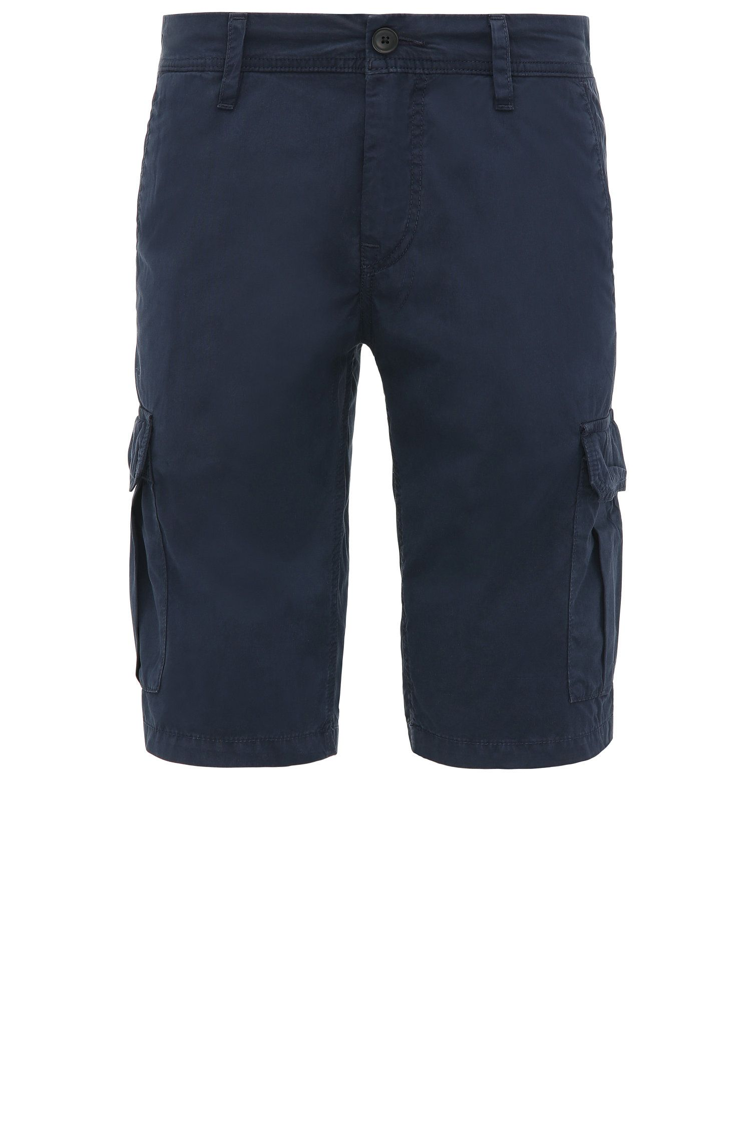 Short cargo Regular Fit en coton : « Schwinn5-Shorts-D »