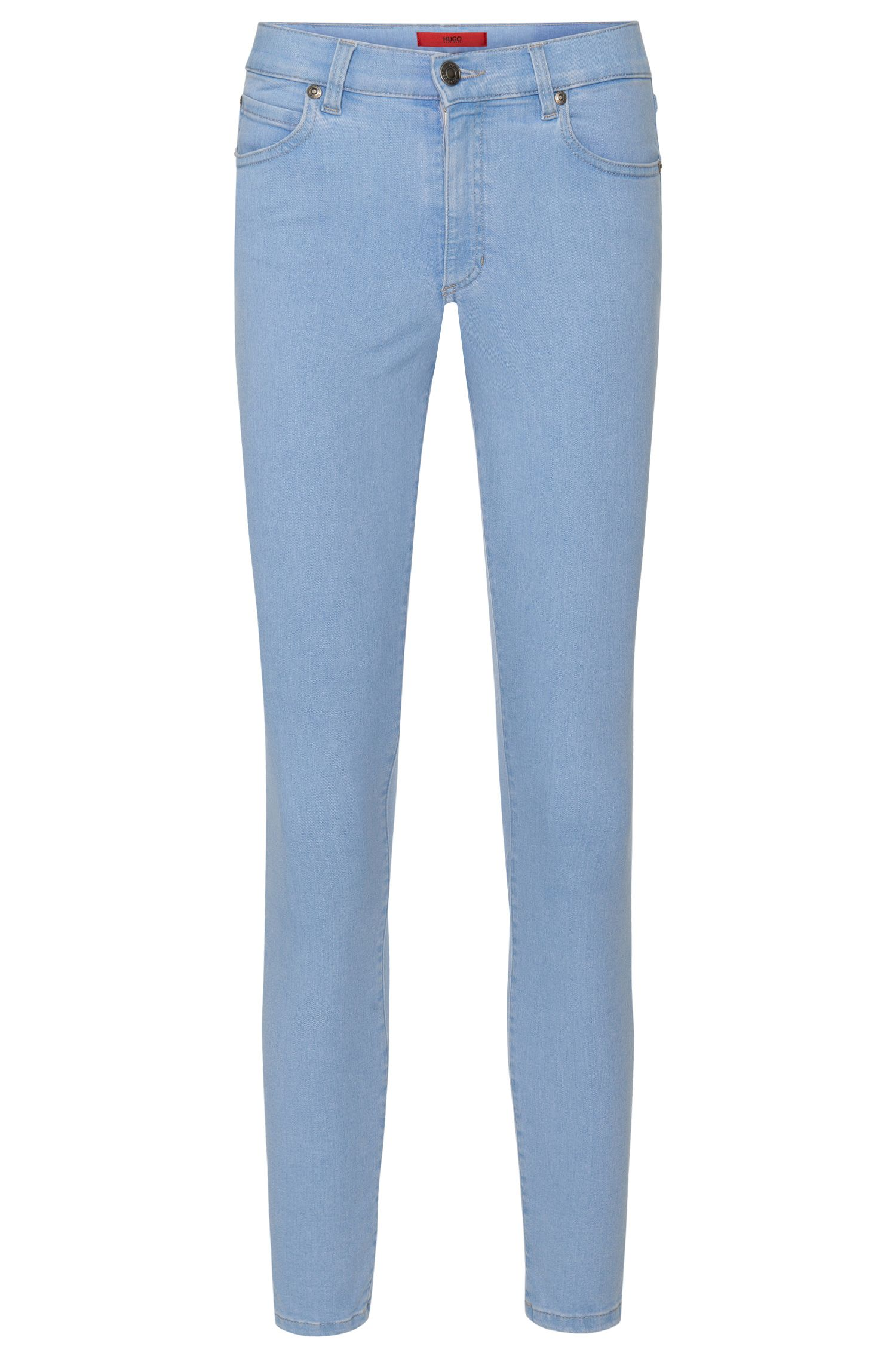 Jeans SkinnyFit en coton extensible mélangé: «Gerna Highwaist Skinny Leg»