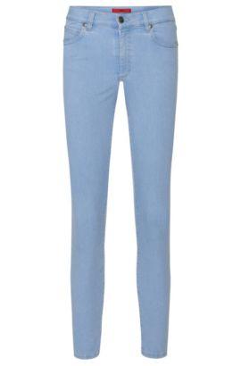Jeans SkinnyFit en coton extensible mélangé: «Gerna Highwaist Skinny Leg», Bleu vif
