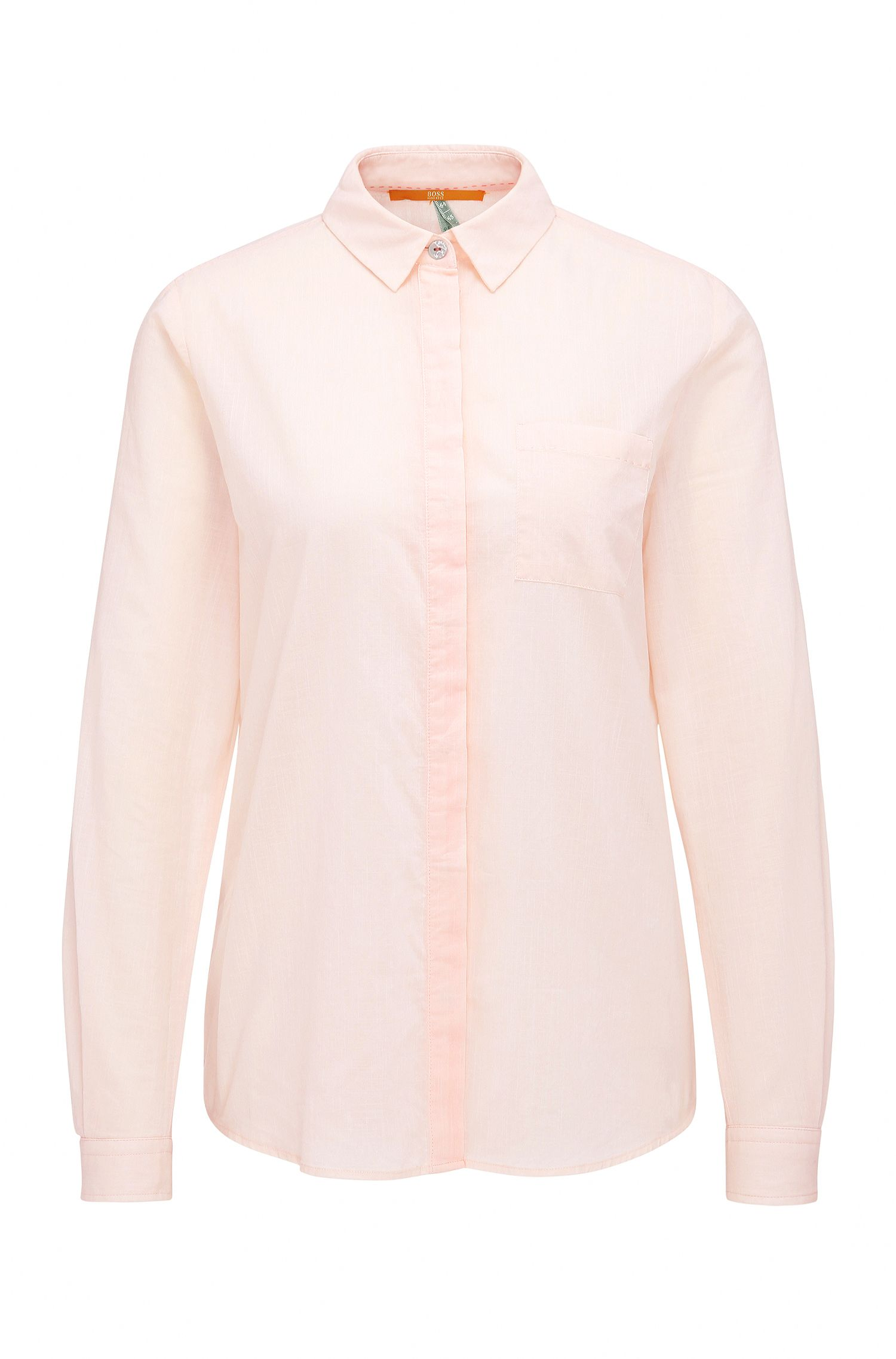 Relaxed-fit blouse in cotton: 'Egyp'