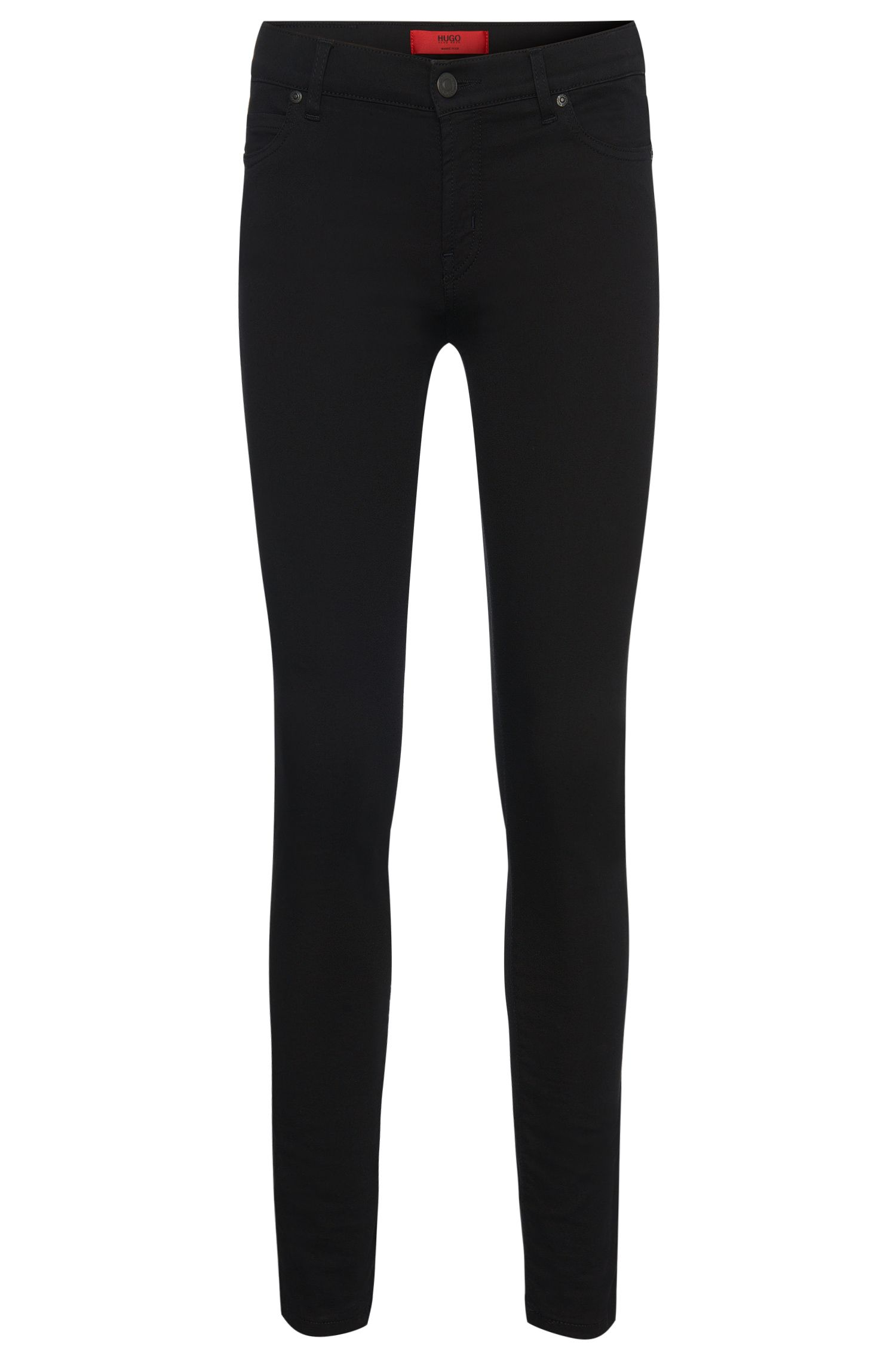 Skinny-Fit Jeans aus elastischem Baumwoll-Mix: 'Georgina'