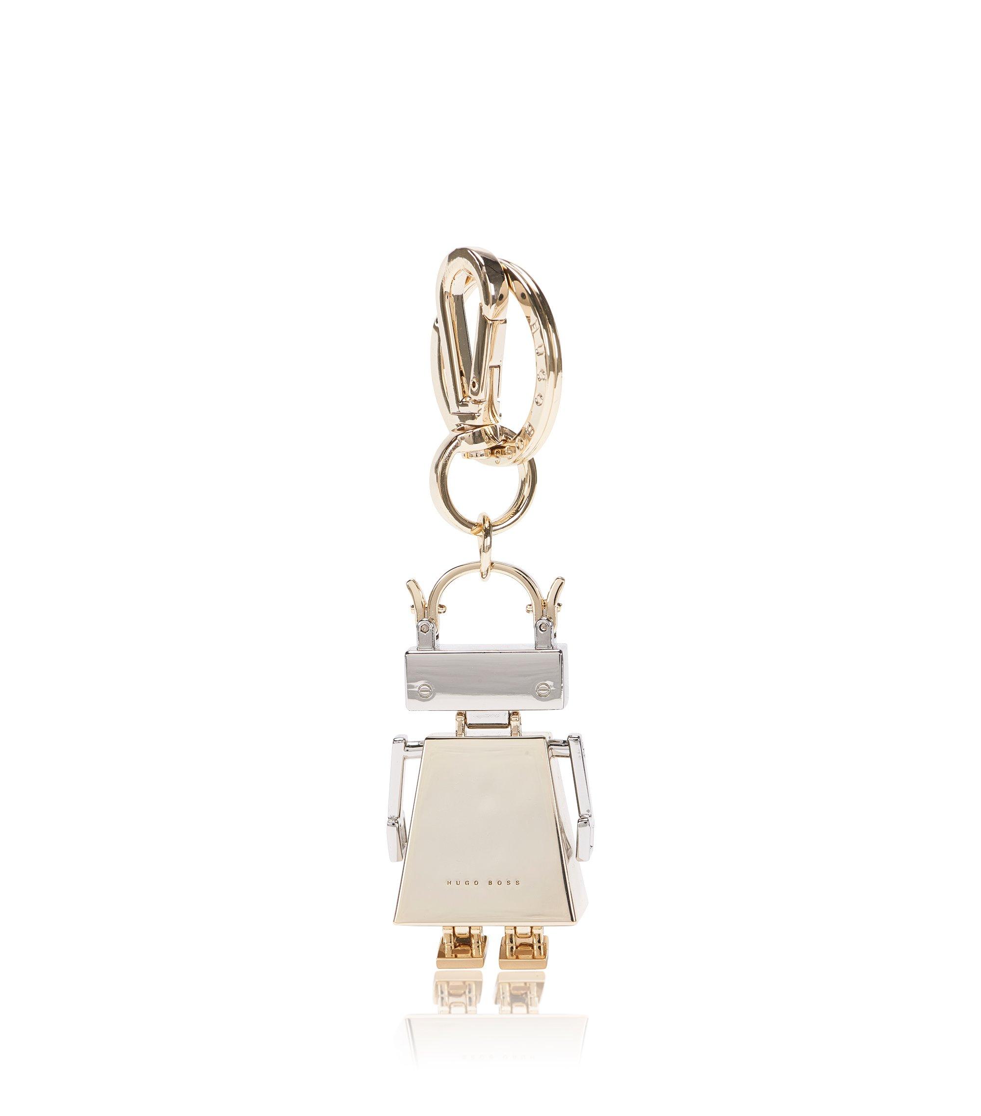 BOSSbot-Schlüsselanhänger aus beschichtetem Zink: 'BOSS Bots', Gold