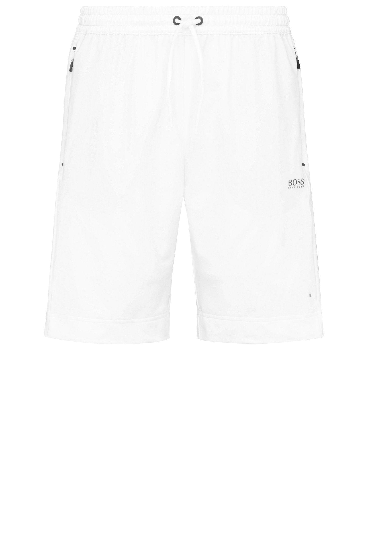 Regular-Fit Shorts aus elastischem Material-Mix: ´Hortech`