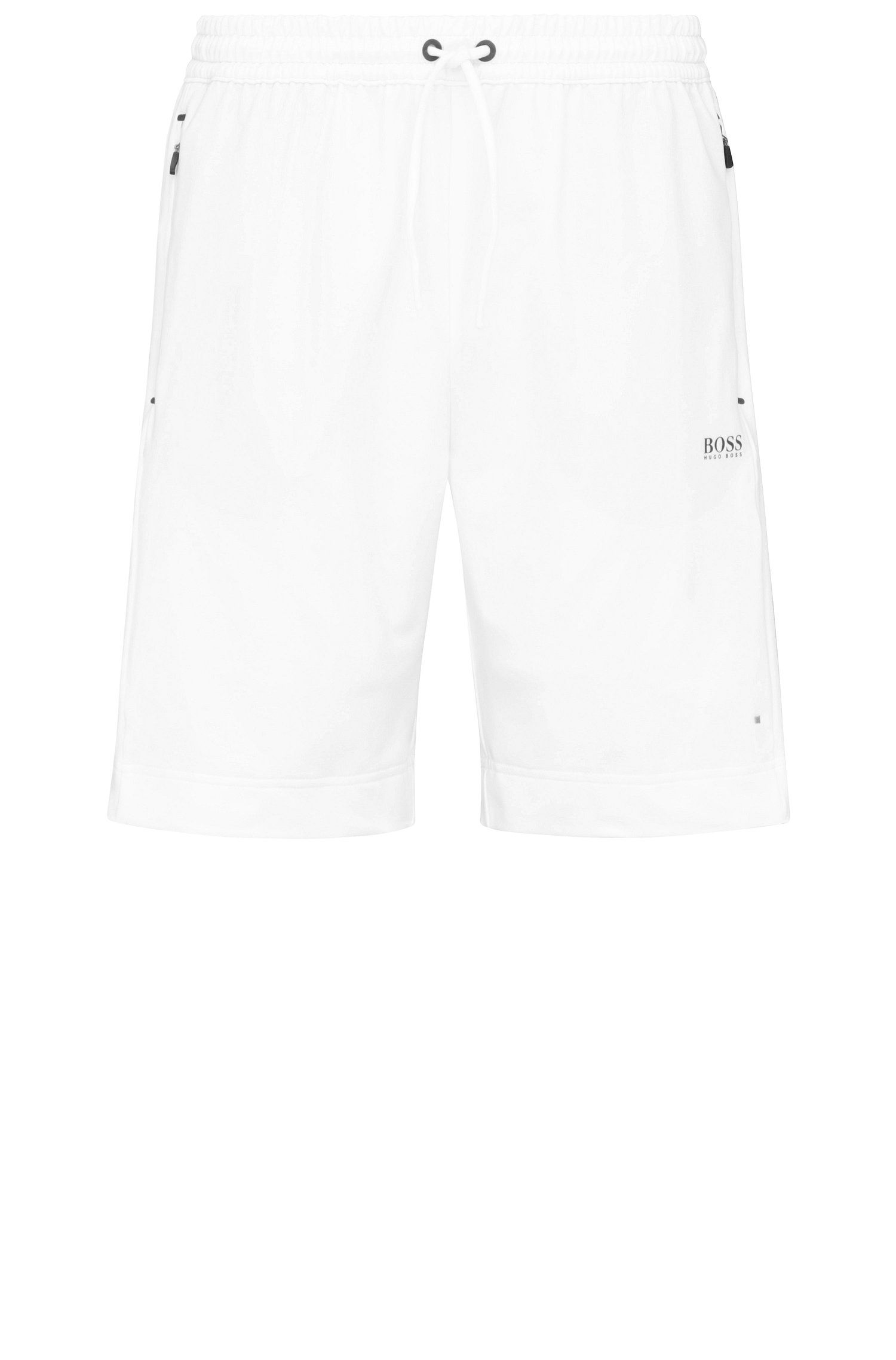 Regular-fit shorts in stretchy material blend: 'Hortech'