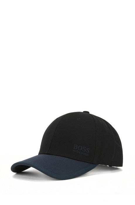 daf8d6ffda5 BOSS - Colour-block baseball cap in cotton twill