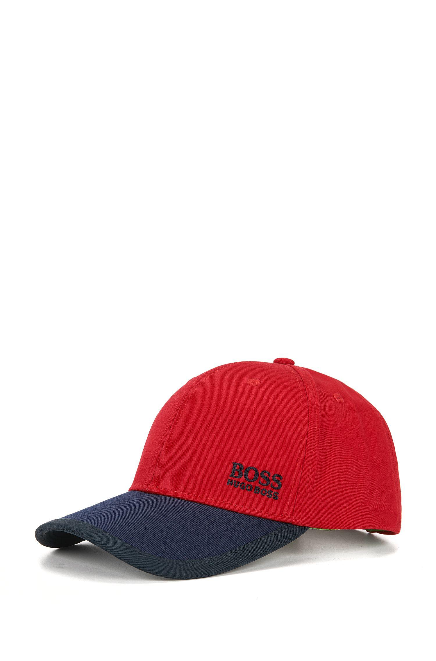 Baseball Cap aus Baumwolle im Colour-Block-Design