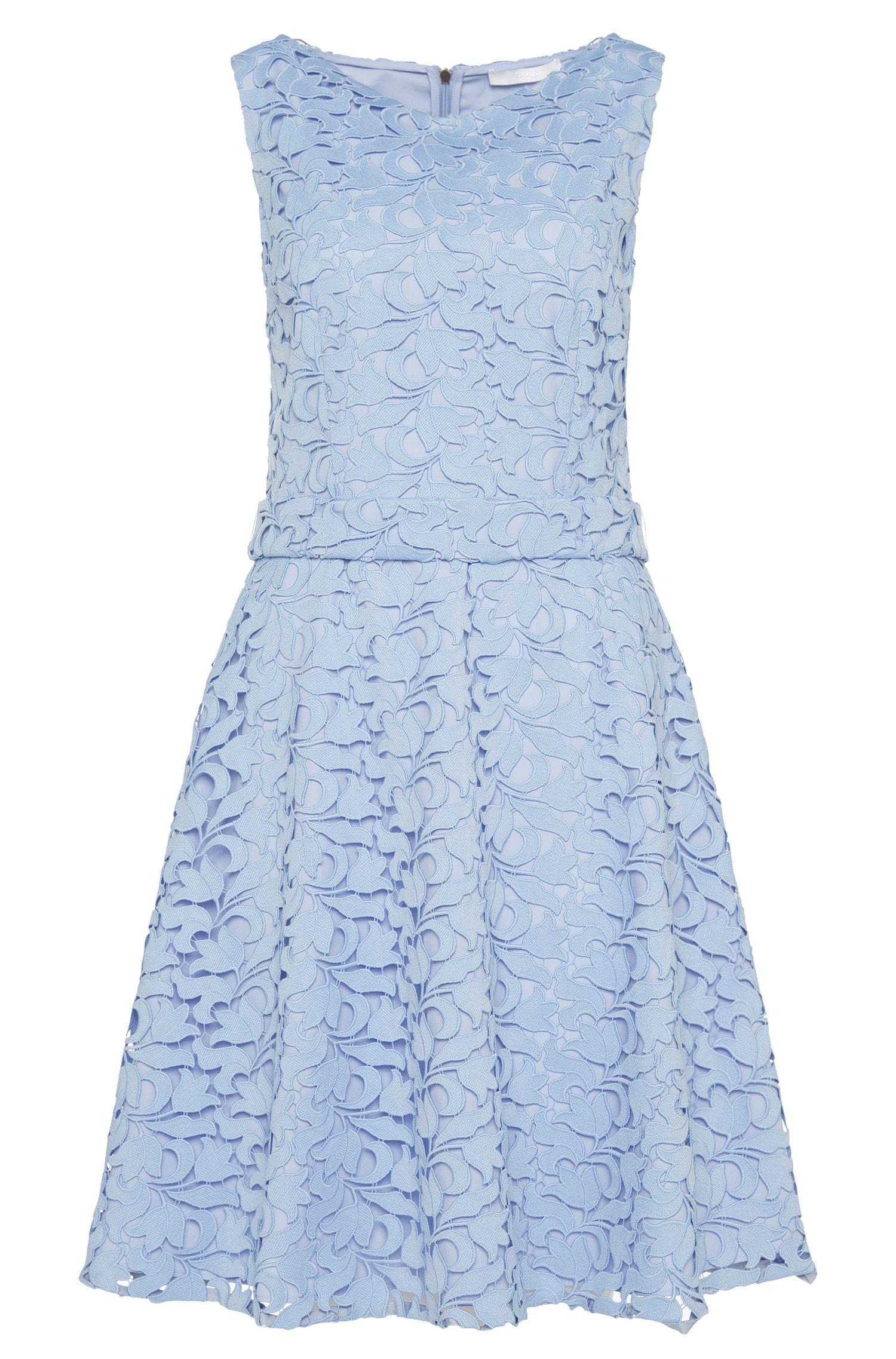 Sleeveless layered-look dress: 'Dyferana'