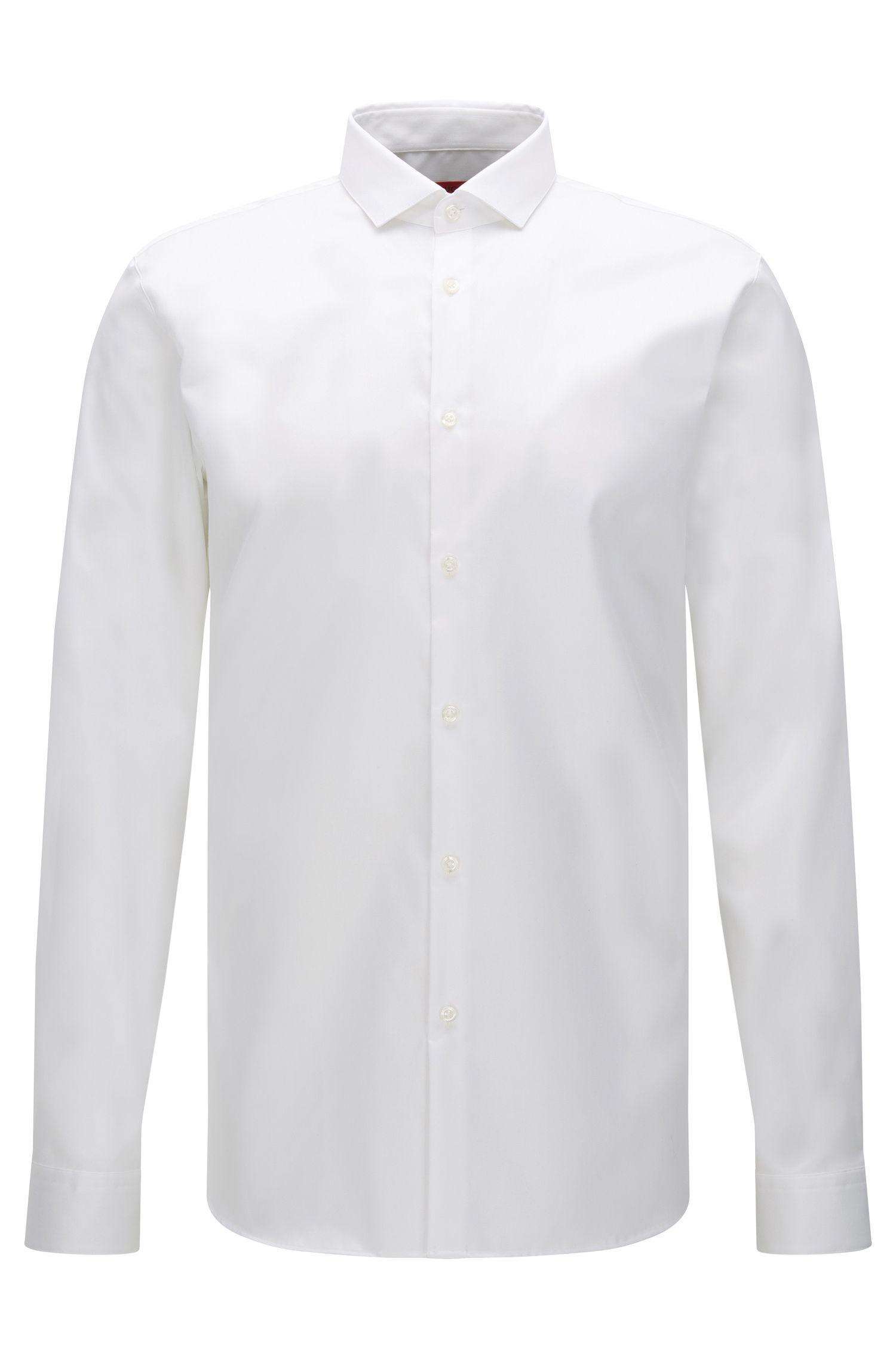 Camicia extra slim fit in cotone facile da stirare: 'Erondo'