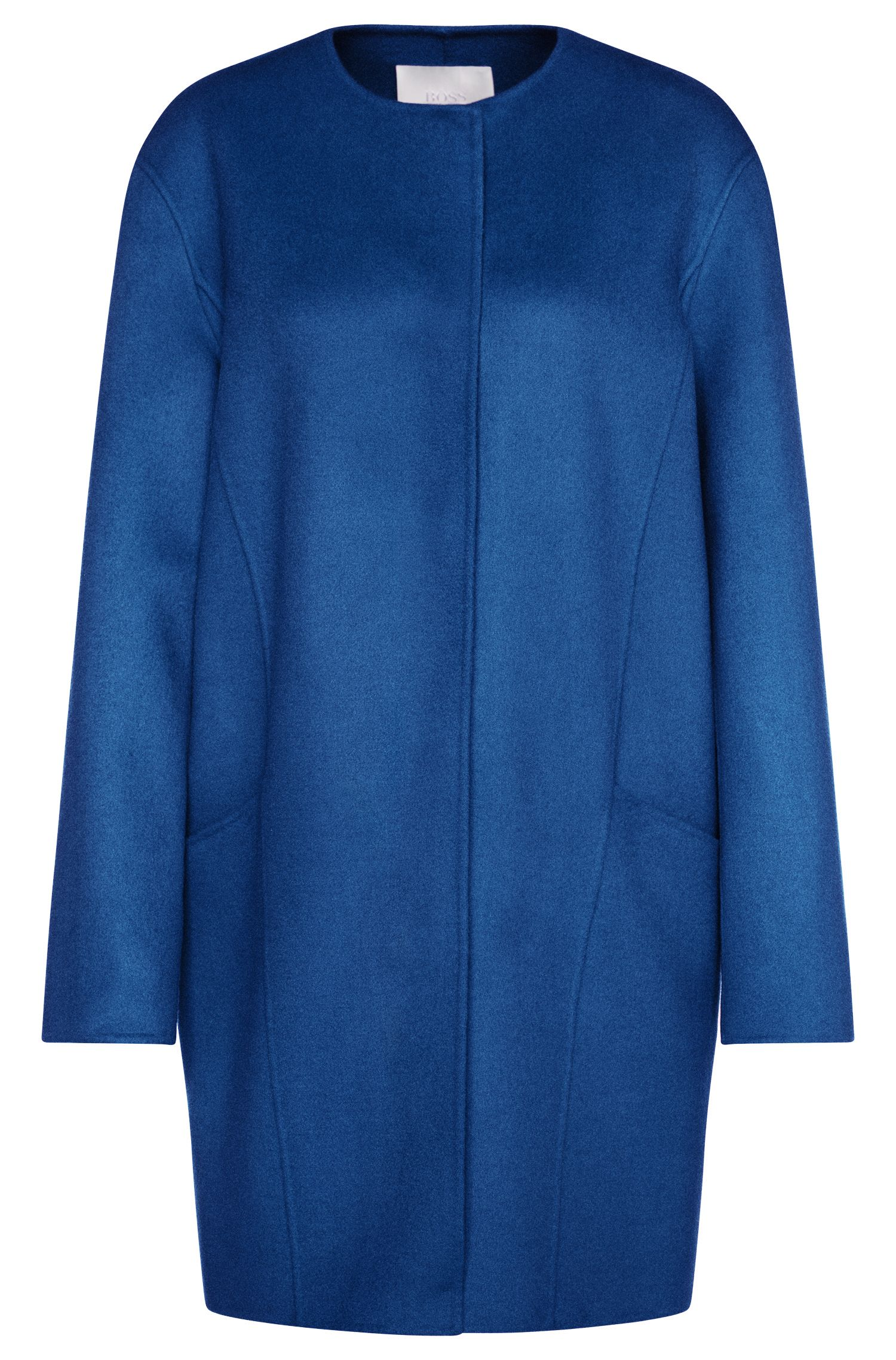 Oversized coat in new wool: 'Camora1'