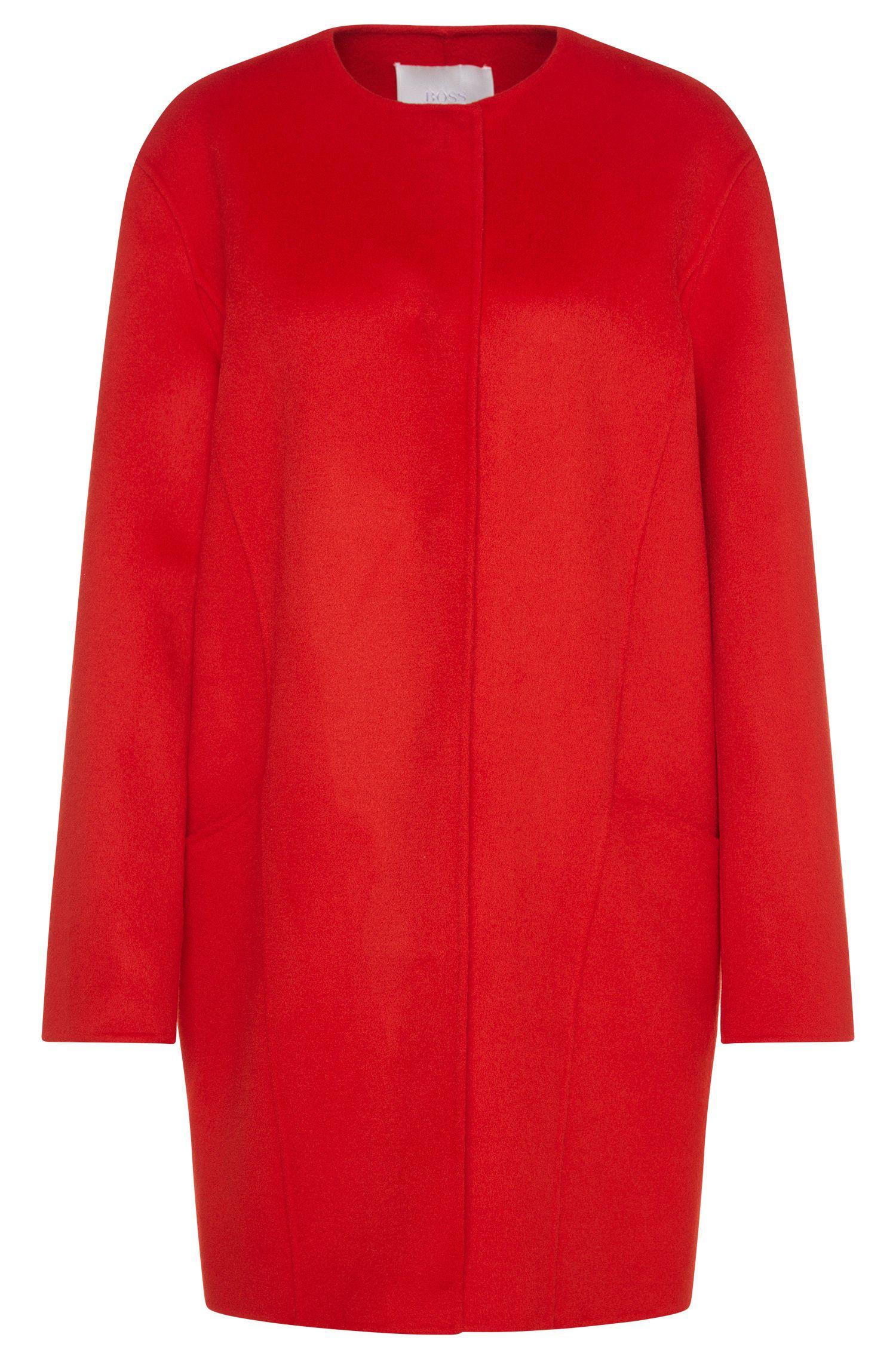 Oversized mantel van scheerwol: 'Camora1'