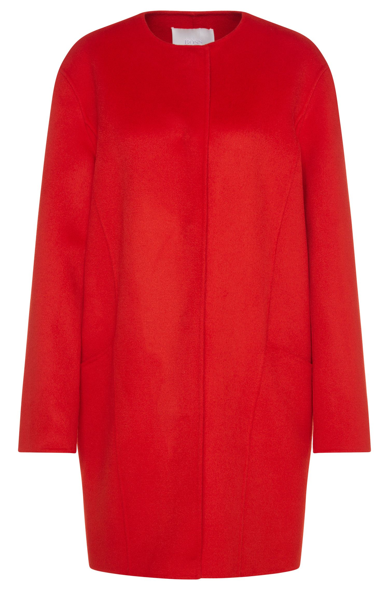 Abrigo extragrande en lana virgen: 'Camora1'