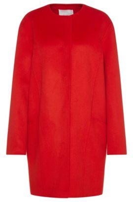 Abrigo extragrande en lana virgen: 'Camora1', Rojo